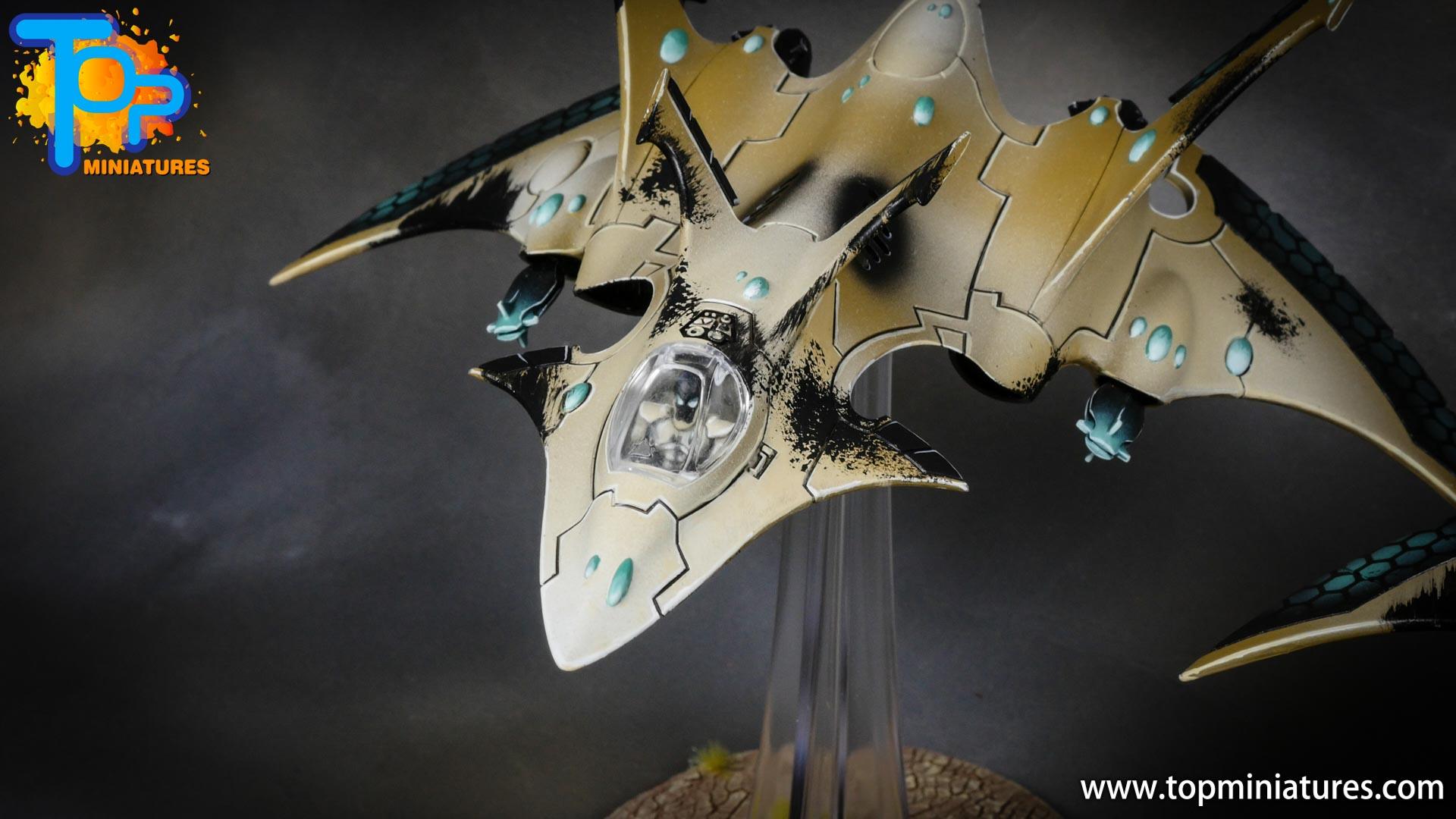 aeldari crimson hunter hemlock wraithfighter (4)