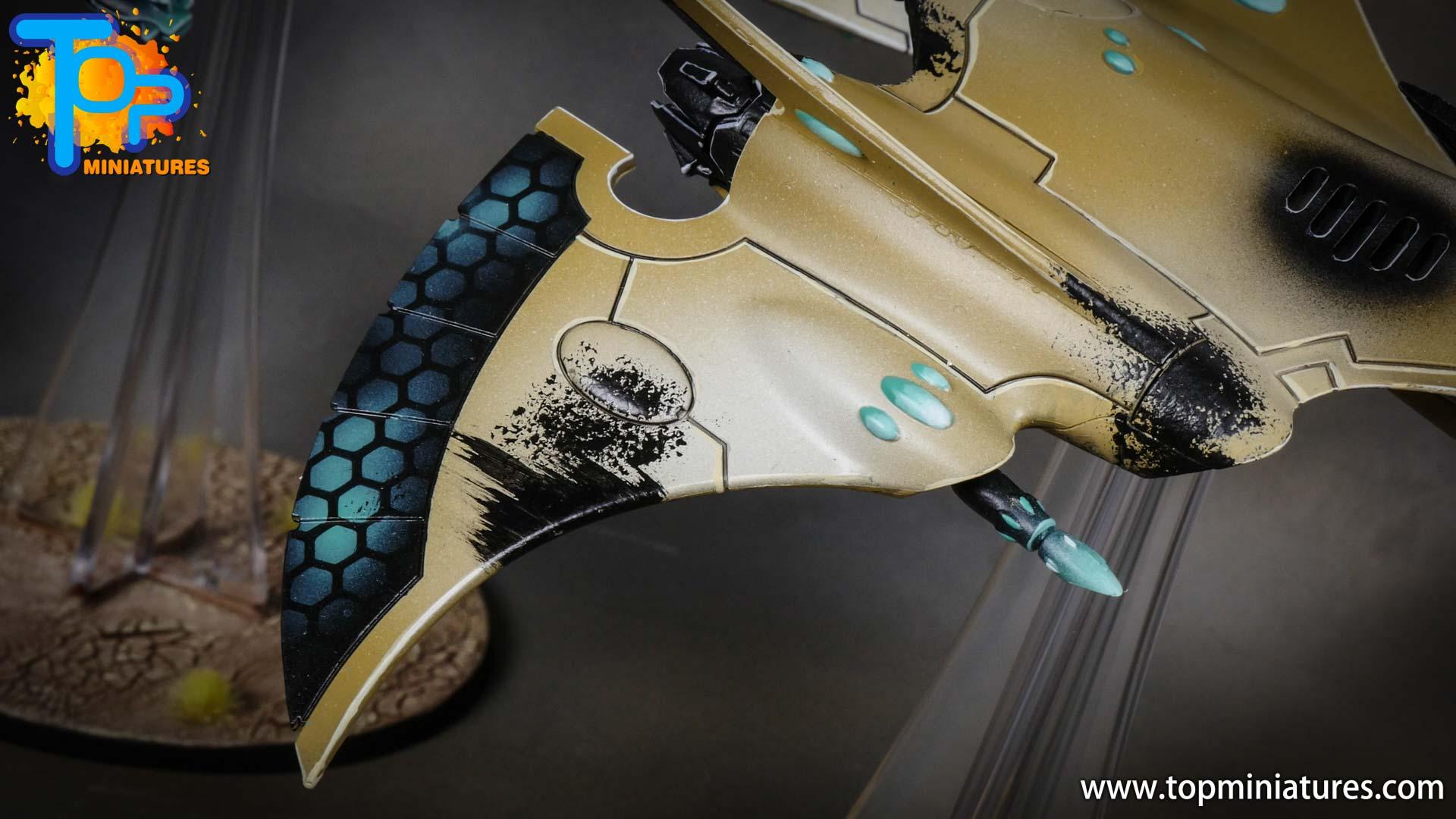 aeldari crimson hunter hemlock wraithfighter (9)