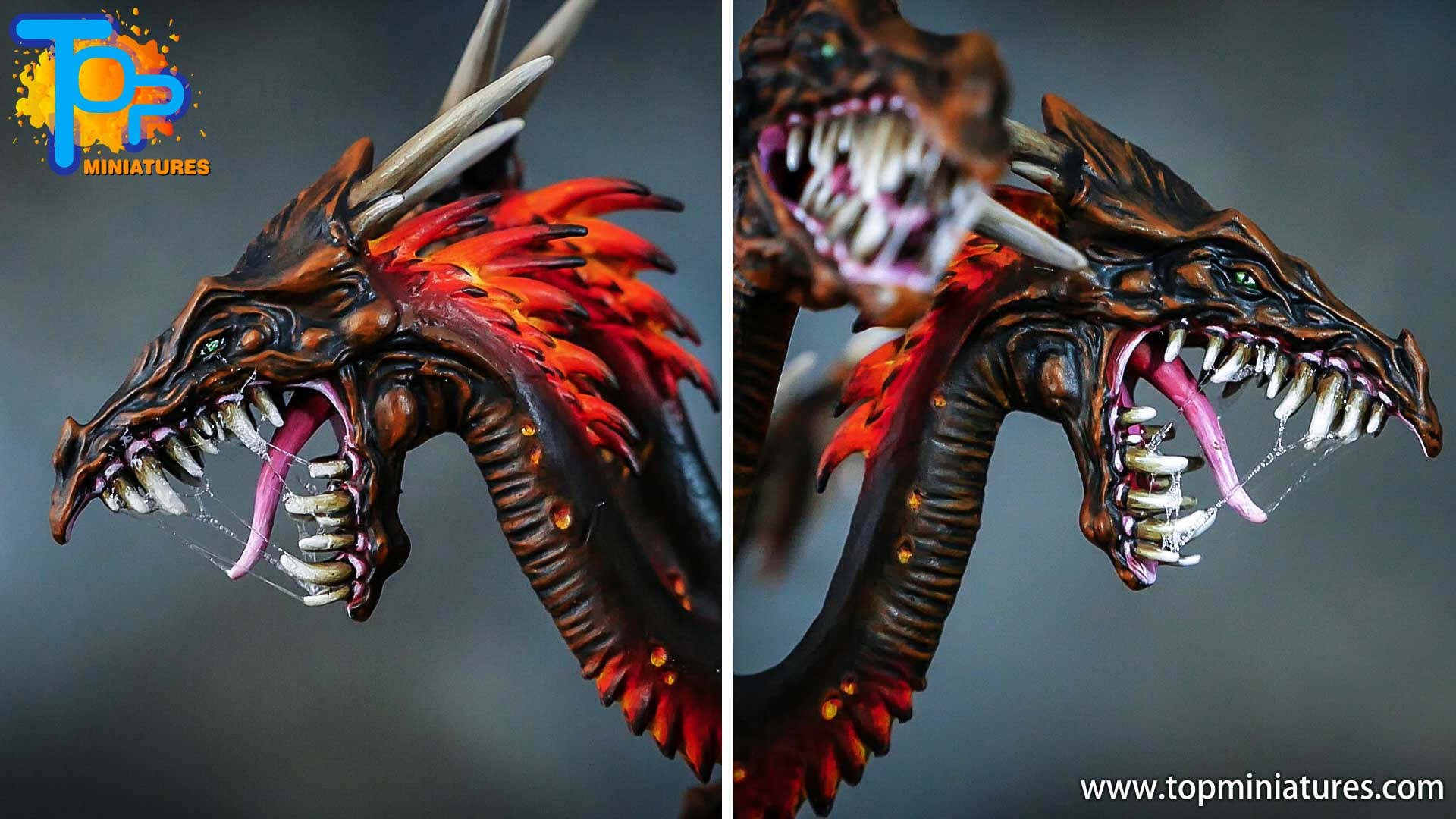 age of sigmar painted chaos dragon (1)