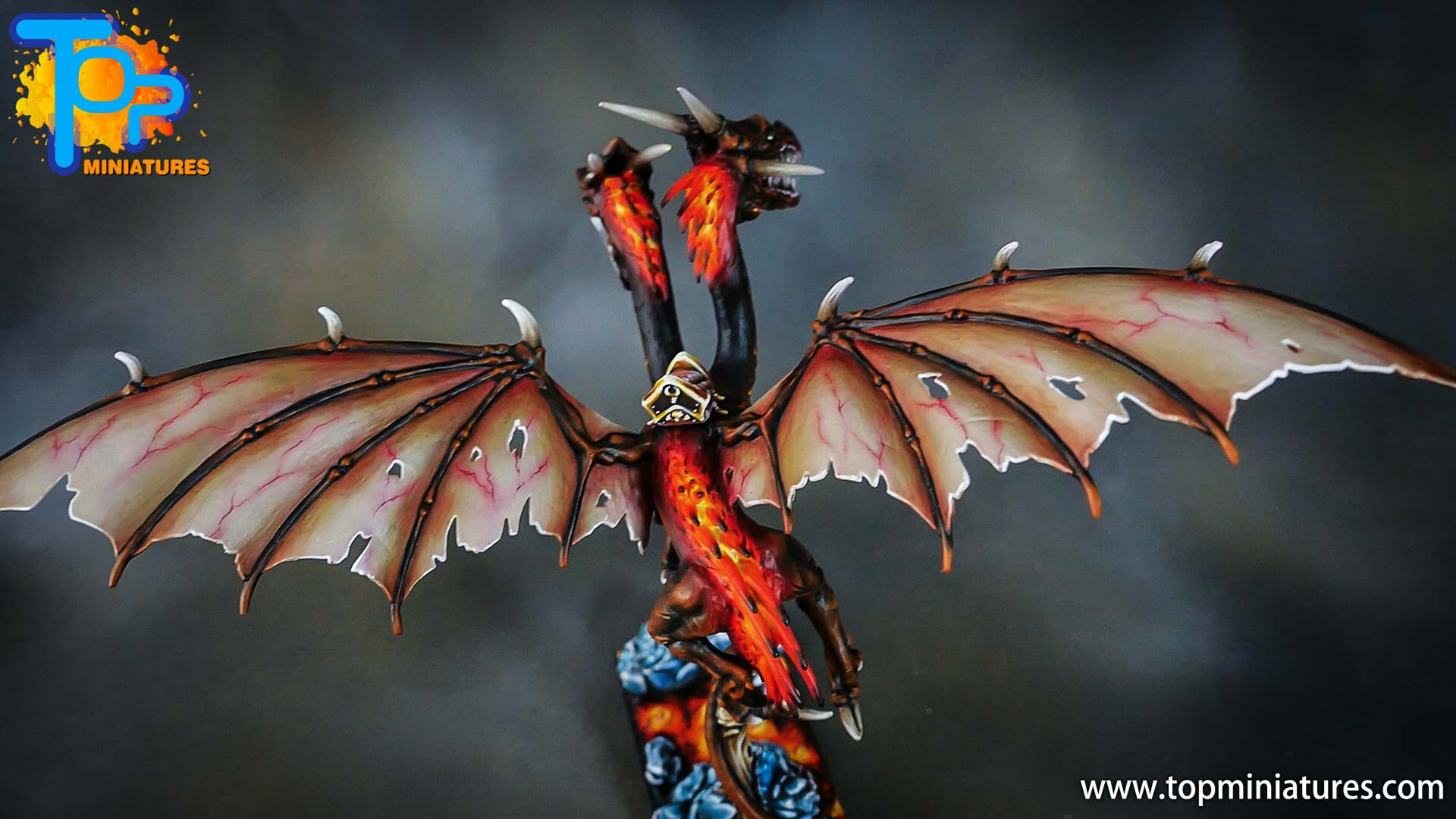 age of sigmar painted chaos dragon (14)