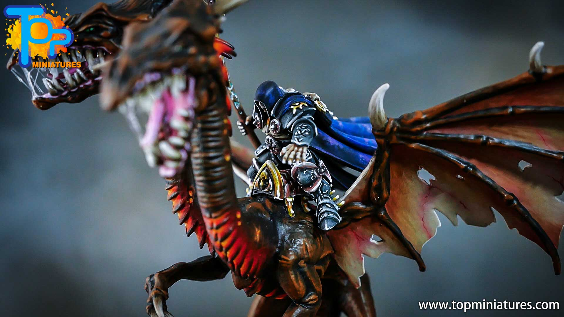 age of sigmar painted chaos dragon (17)