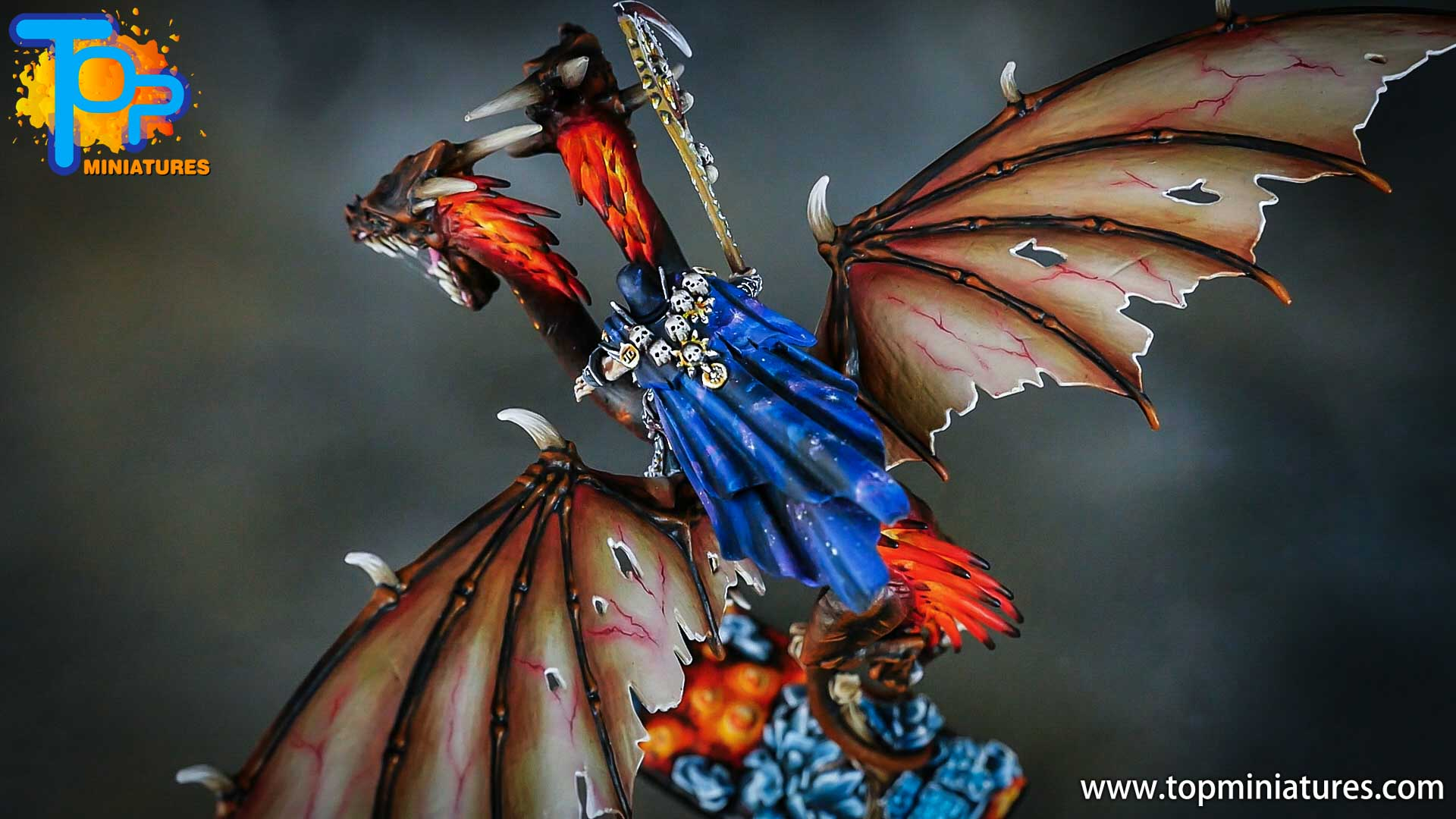 age of sigmar painted chaos dragon (19)