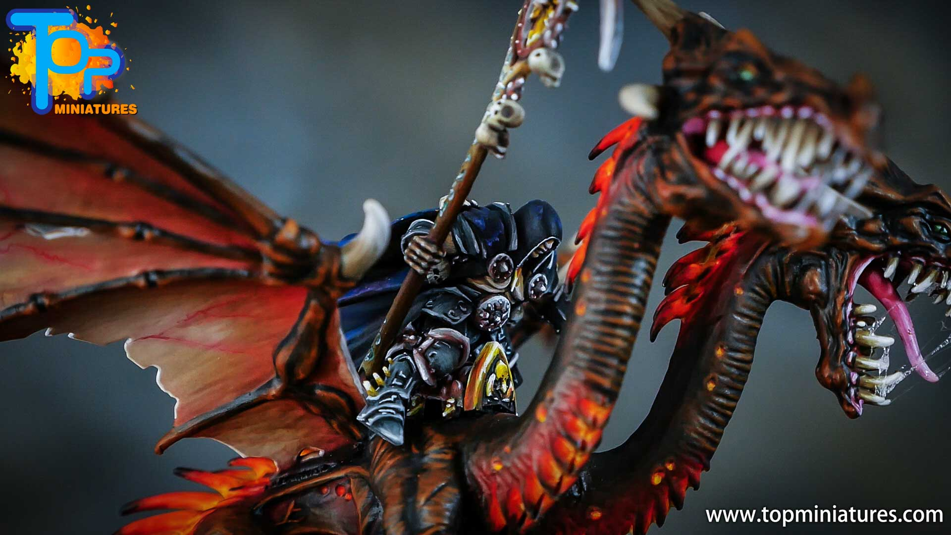 age of sigmar painted chaos dragon (20)
