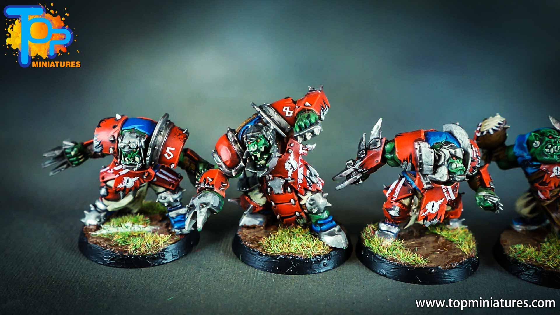 Blood Bowl Orcs & Goblins