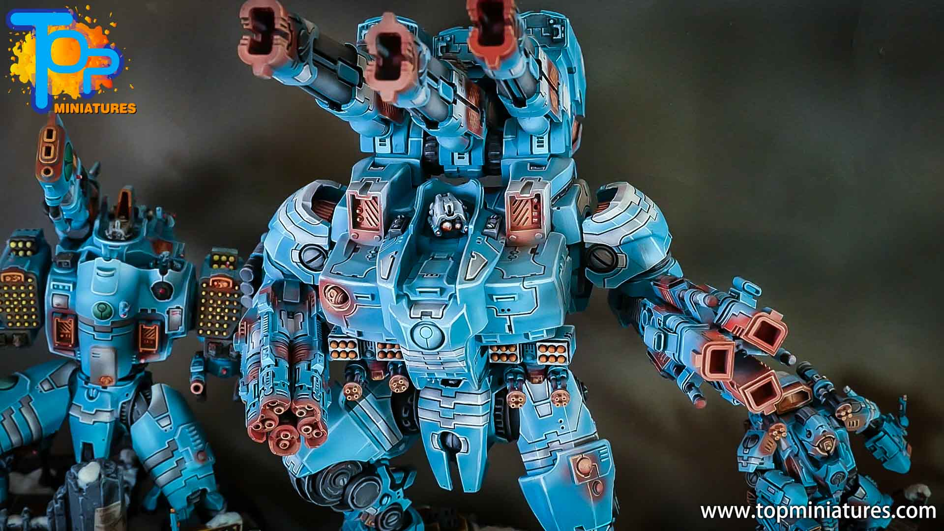 blue KX139 Ta'unar Supremacy Armour (2)