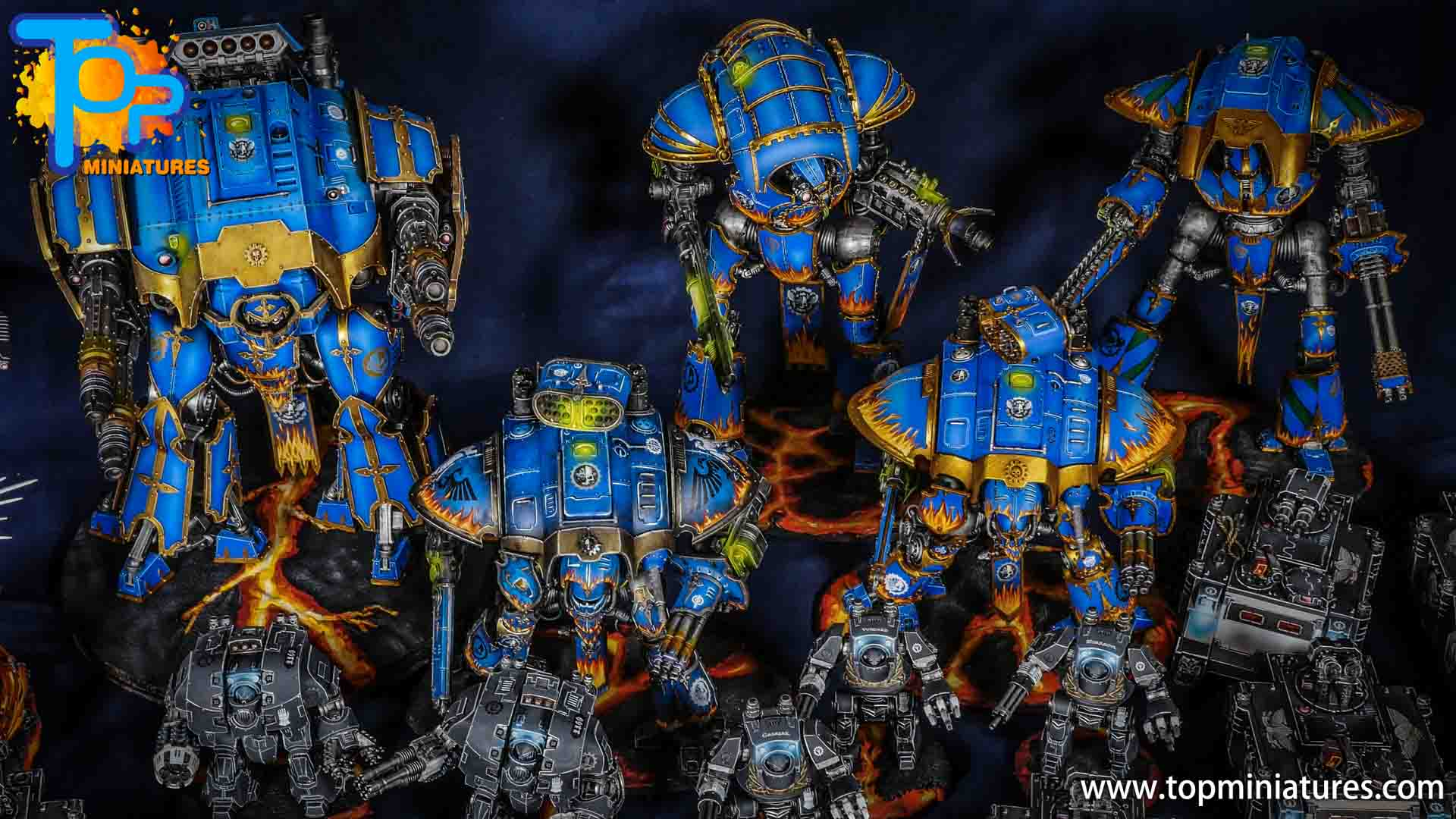 blue fire freehand knight titans (2)