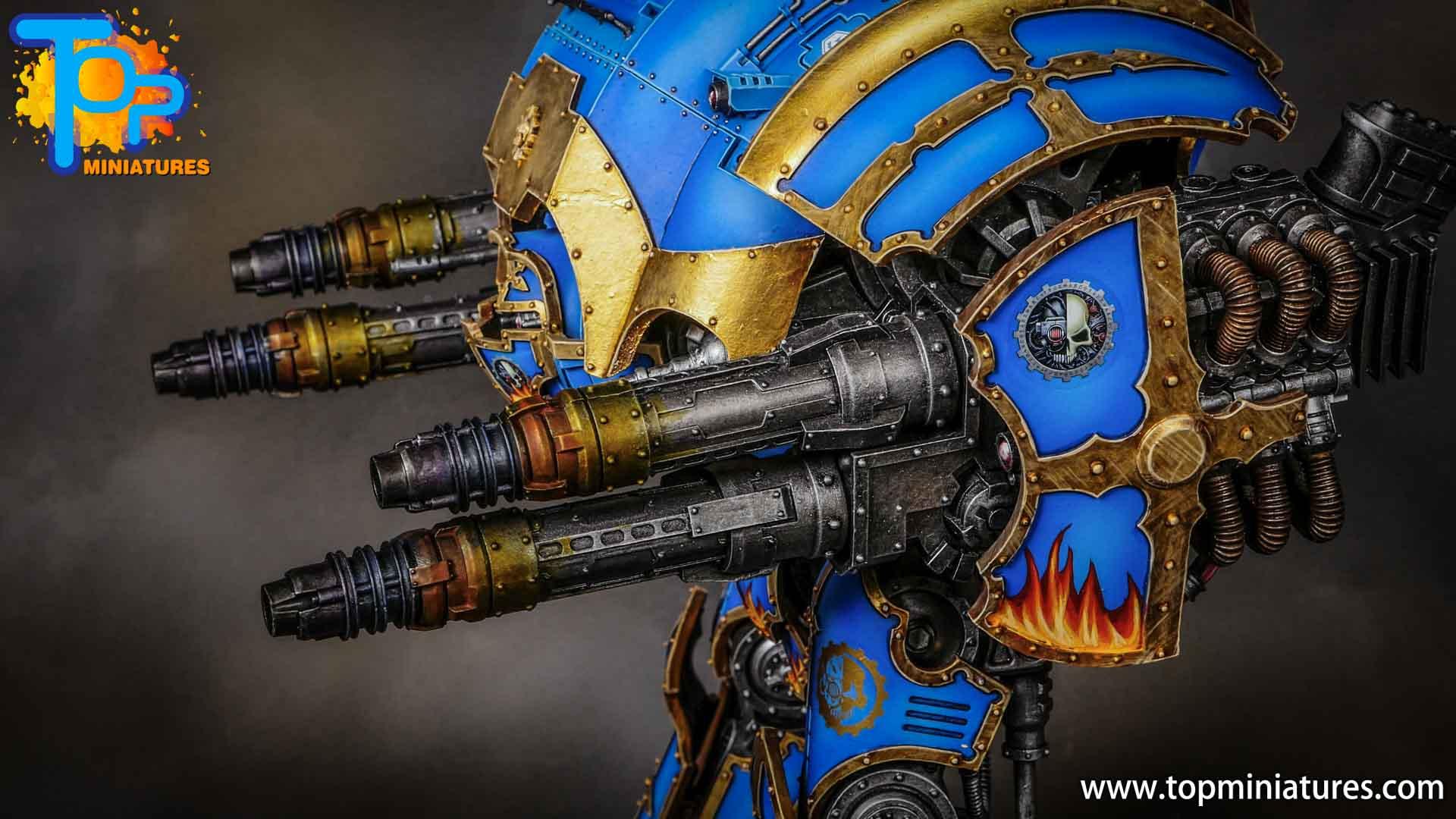 blue painted acastus knight porphyrion (6)