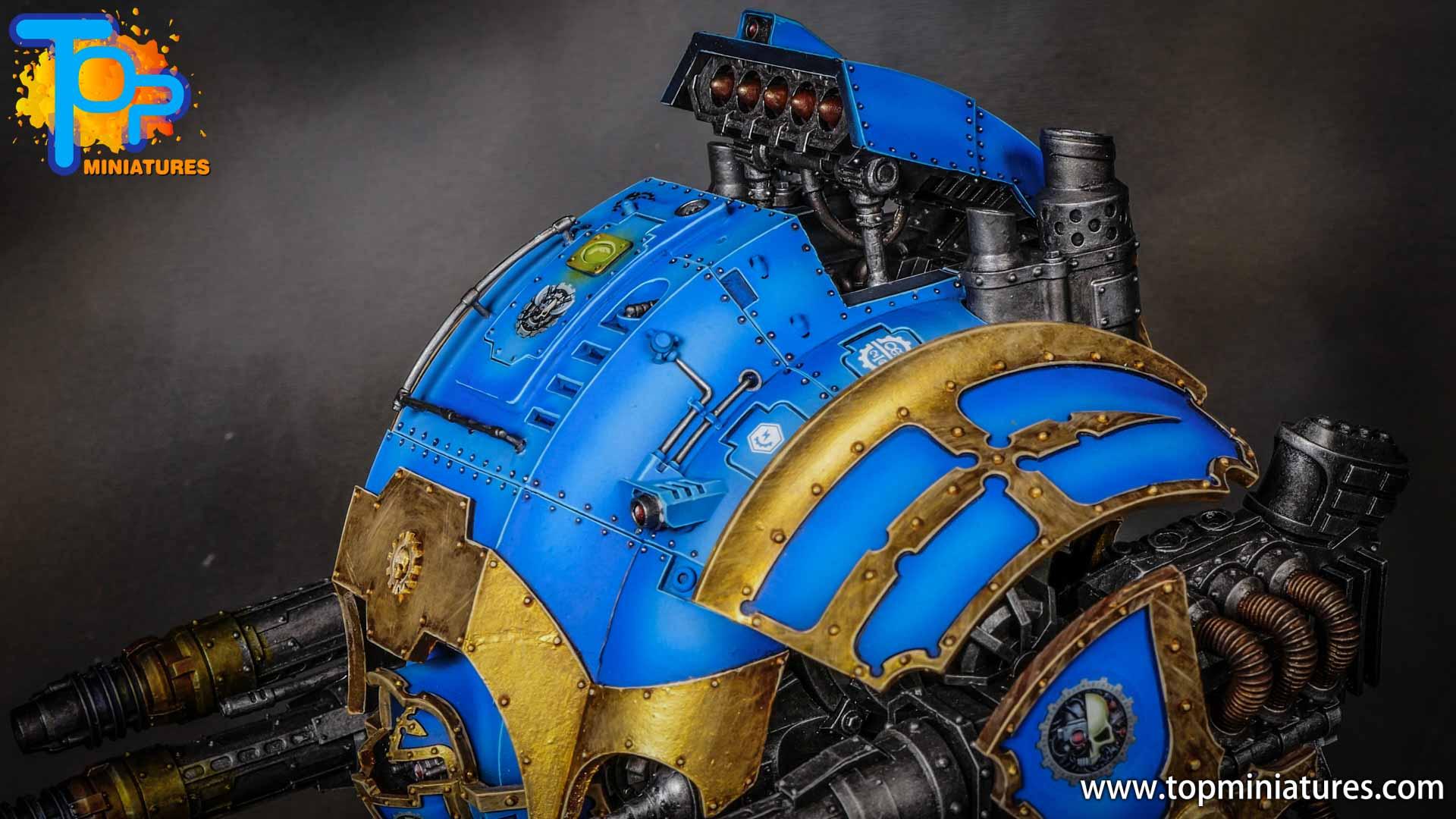 blue painted acastus knight porphyrion (7)