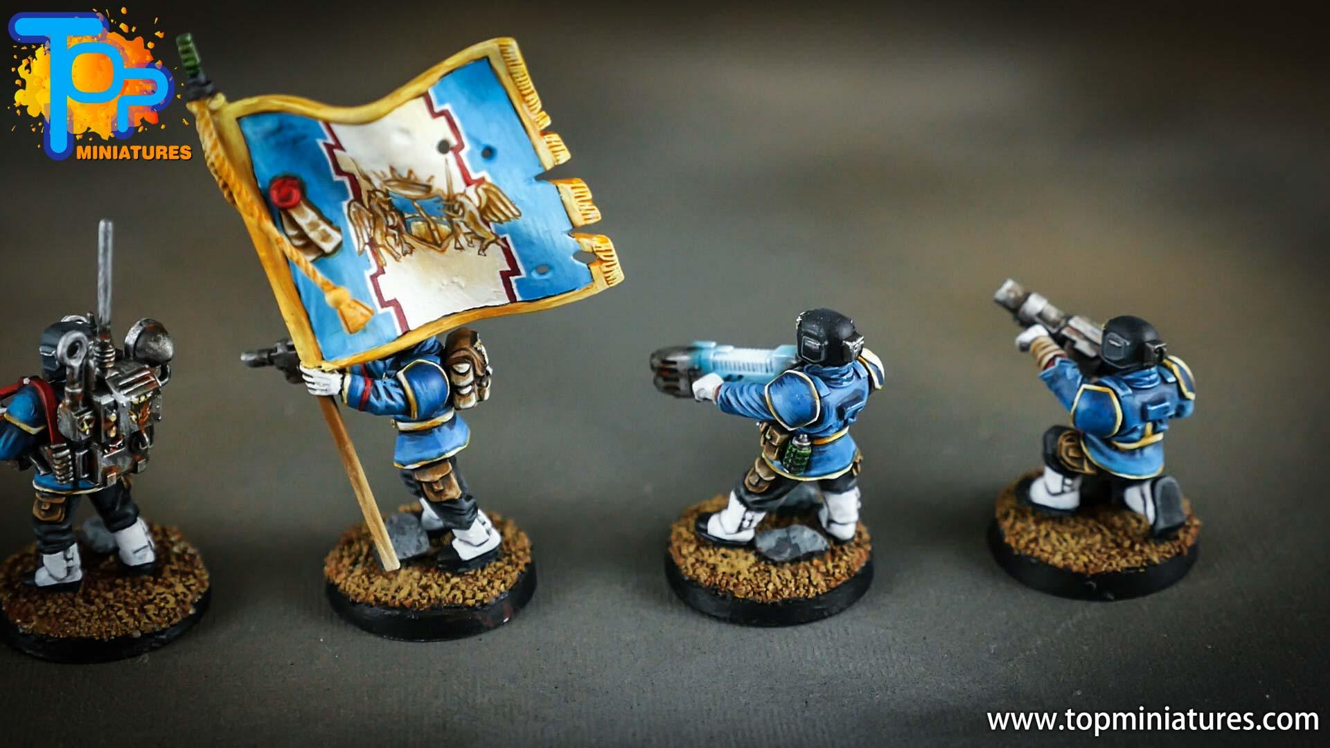 cadian command squad honour guard (1)