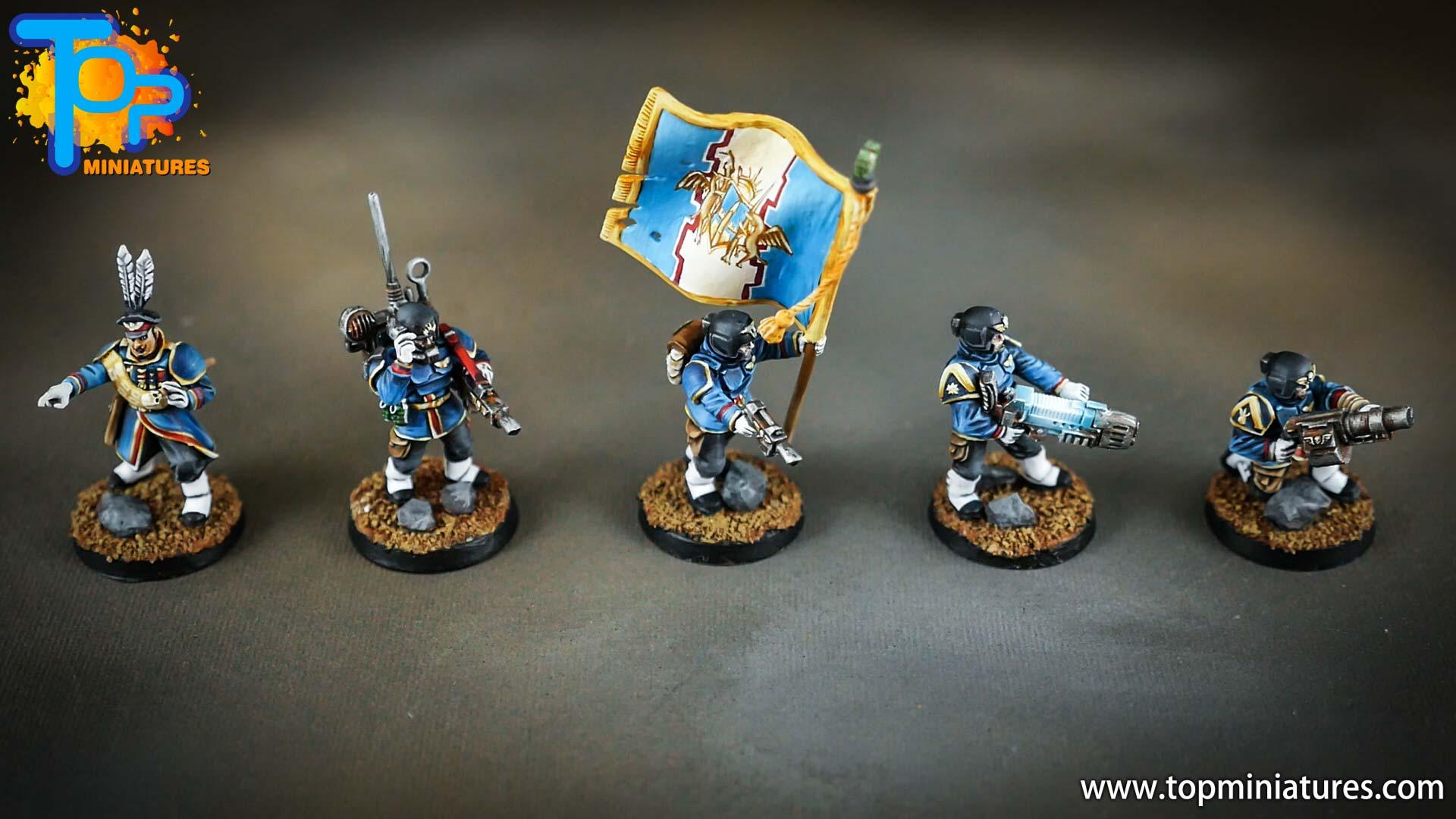 cadian command squad honour guard (2)