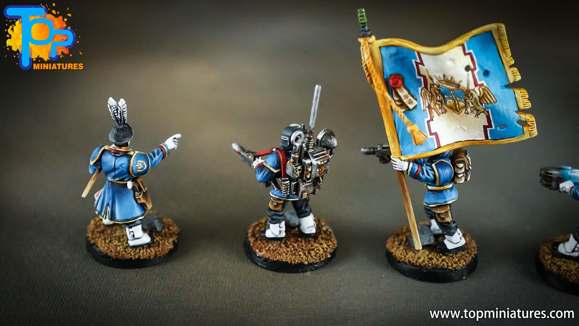cadian command squad honour guard (5)