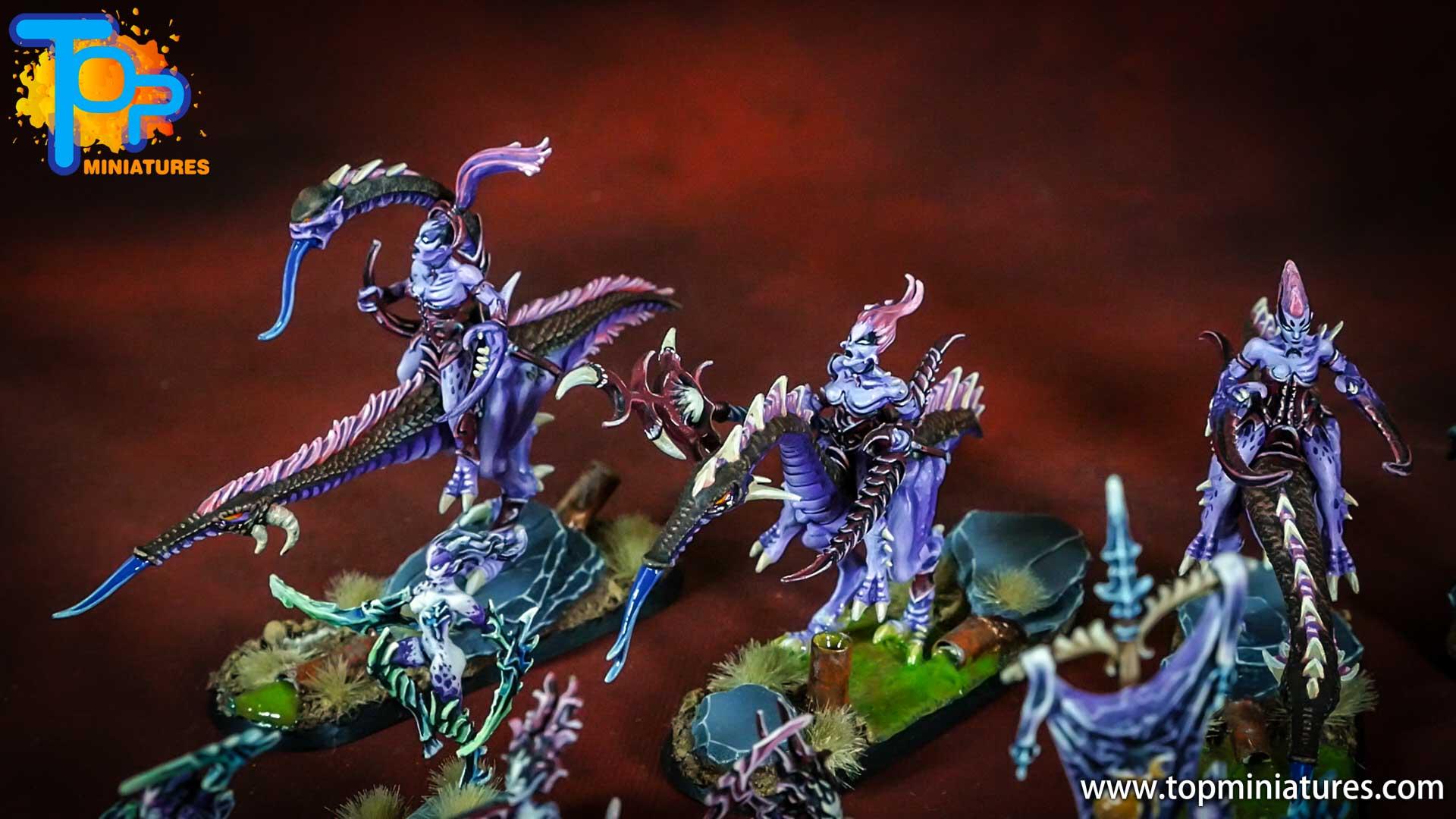 chaos daemons seekers of slaanesh painted (15)