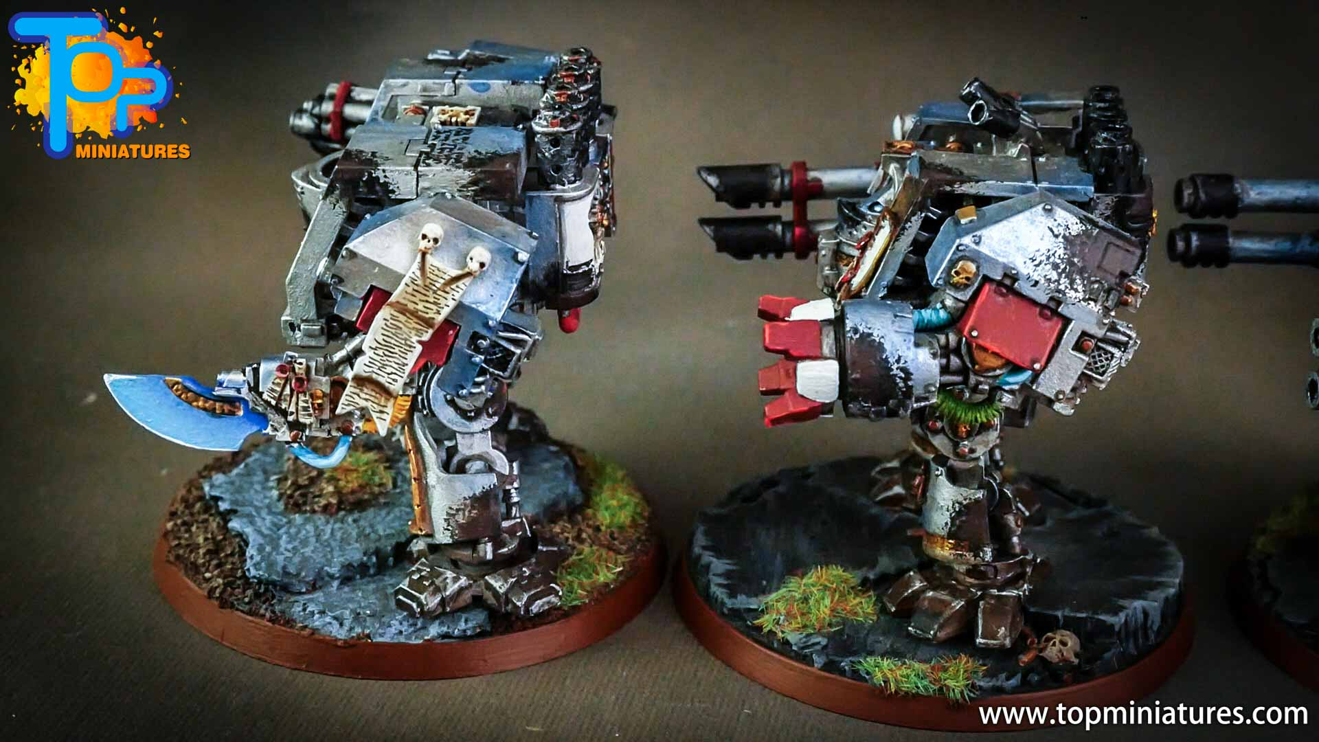 grey knights painted dreadnoughts (6)