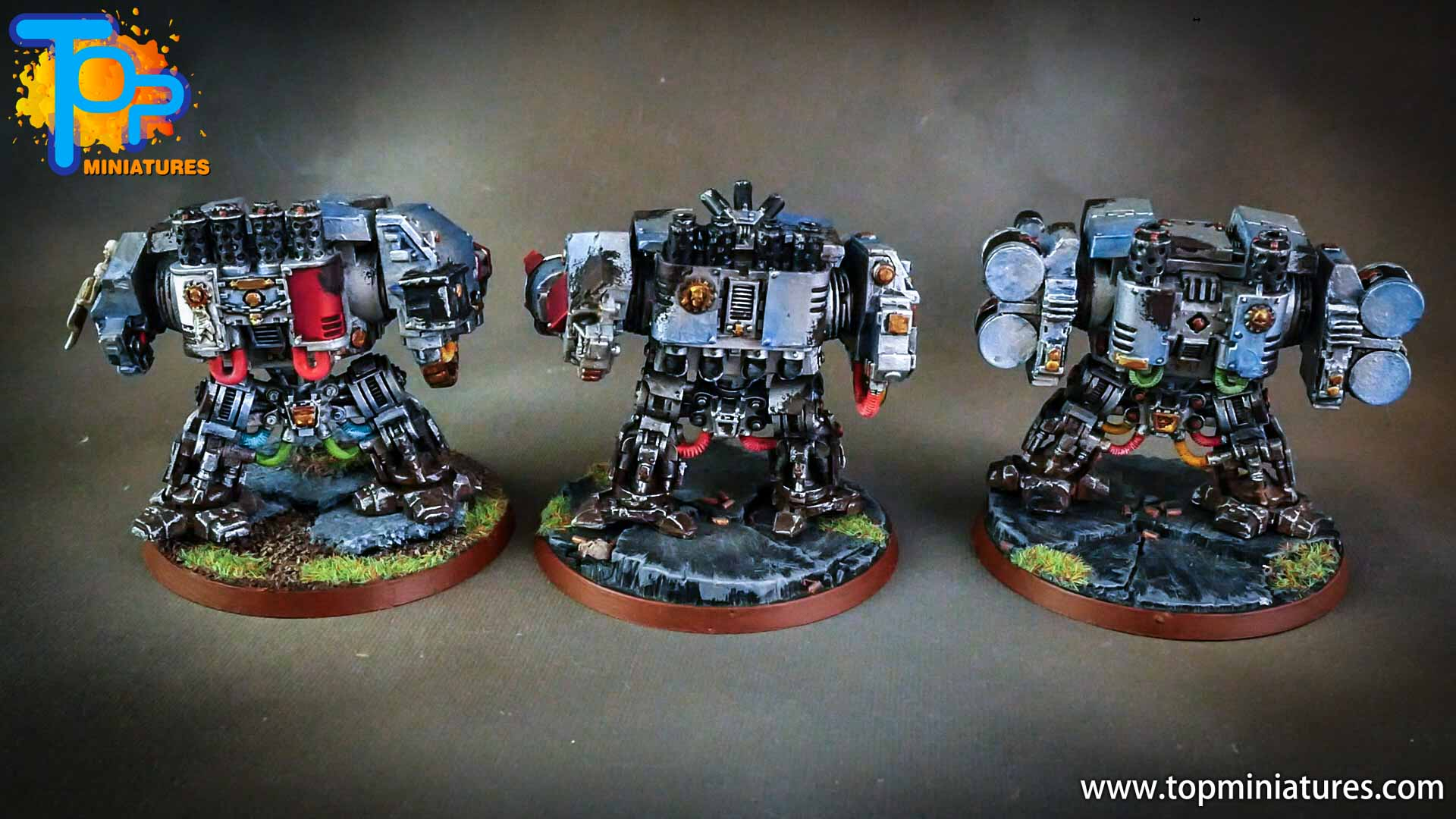 grey knights painted dreadnoughts (8)