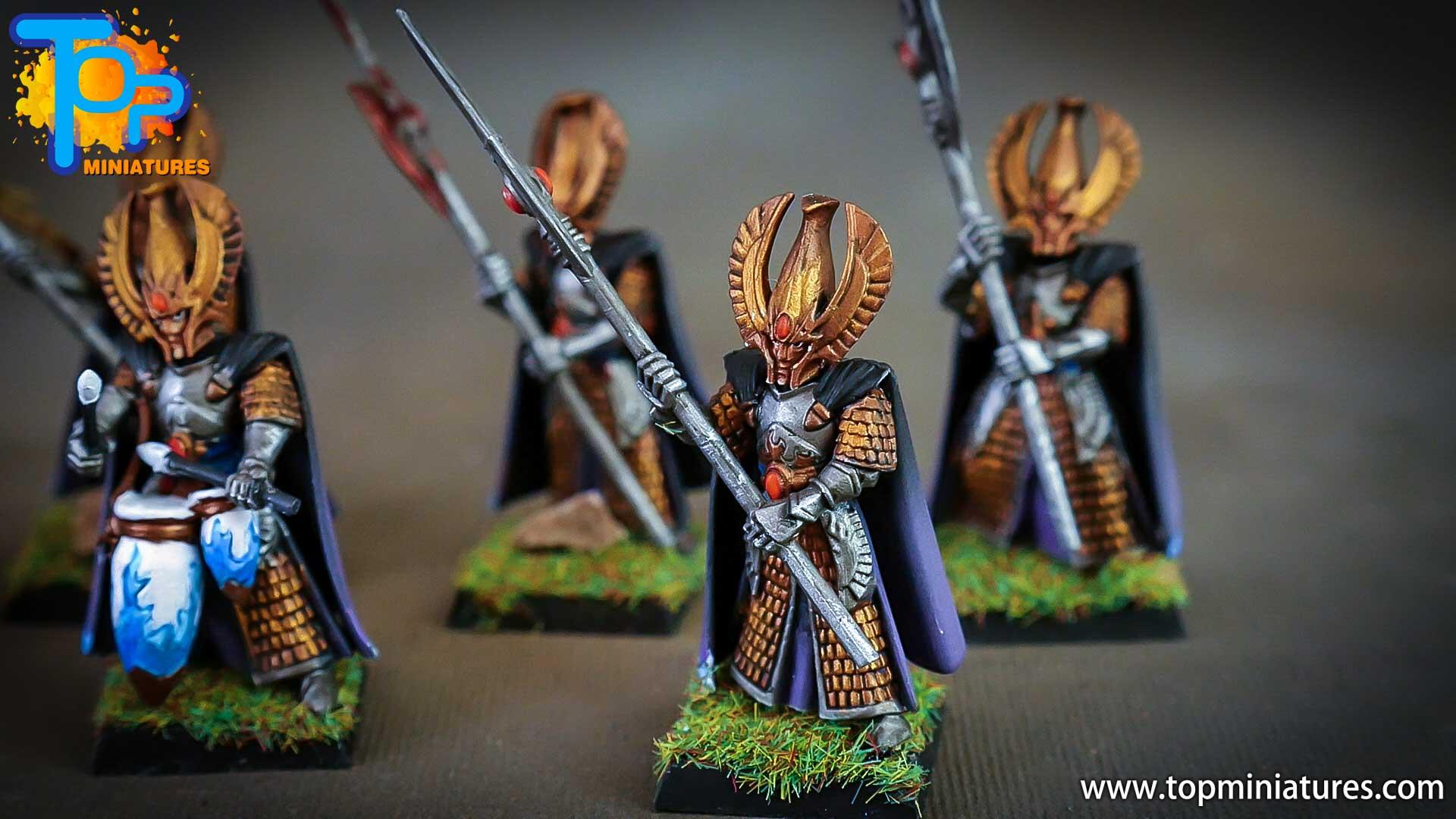 high elves painted phoenix guard (2)