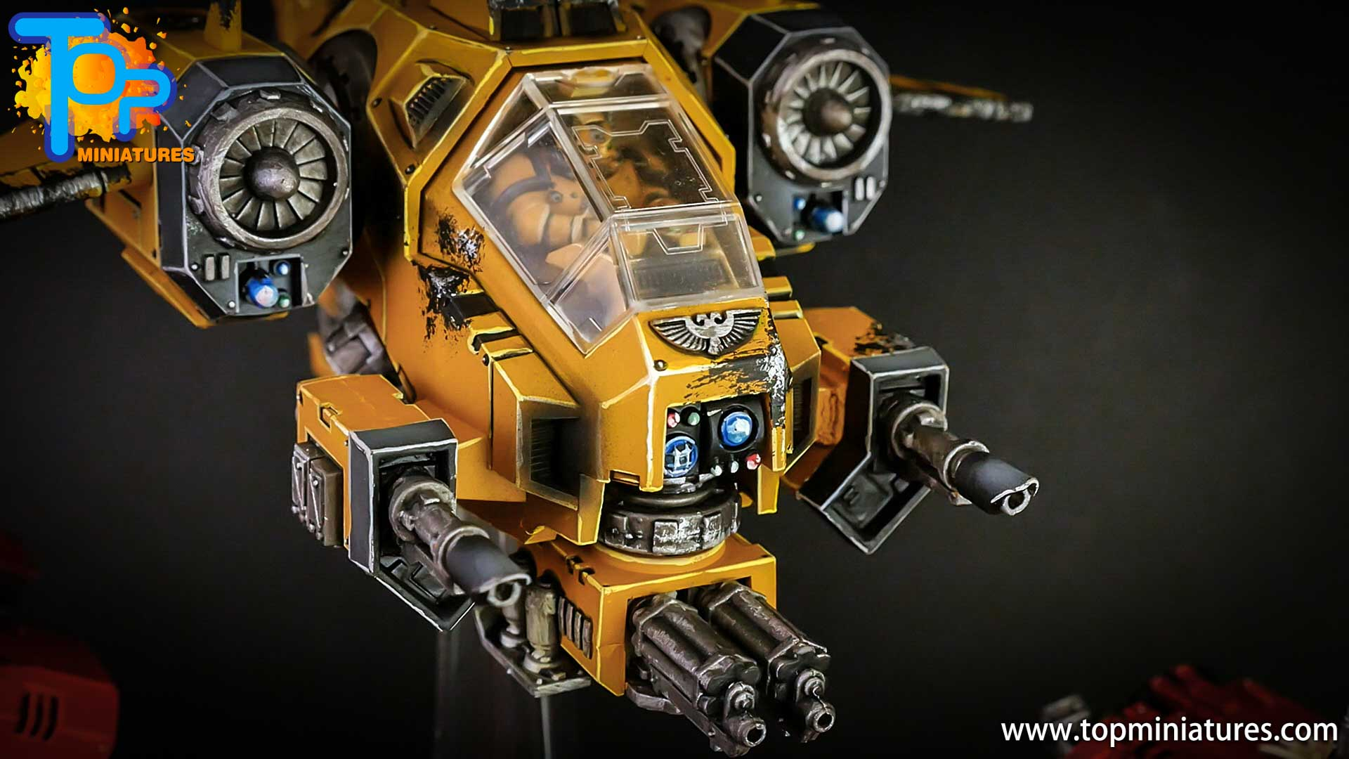 imperial fists space marines stormtalon (1)