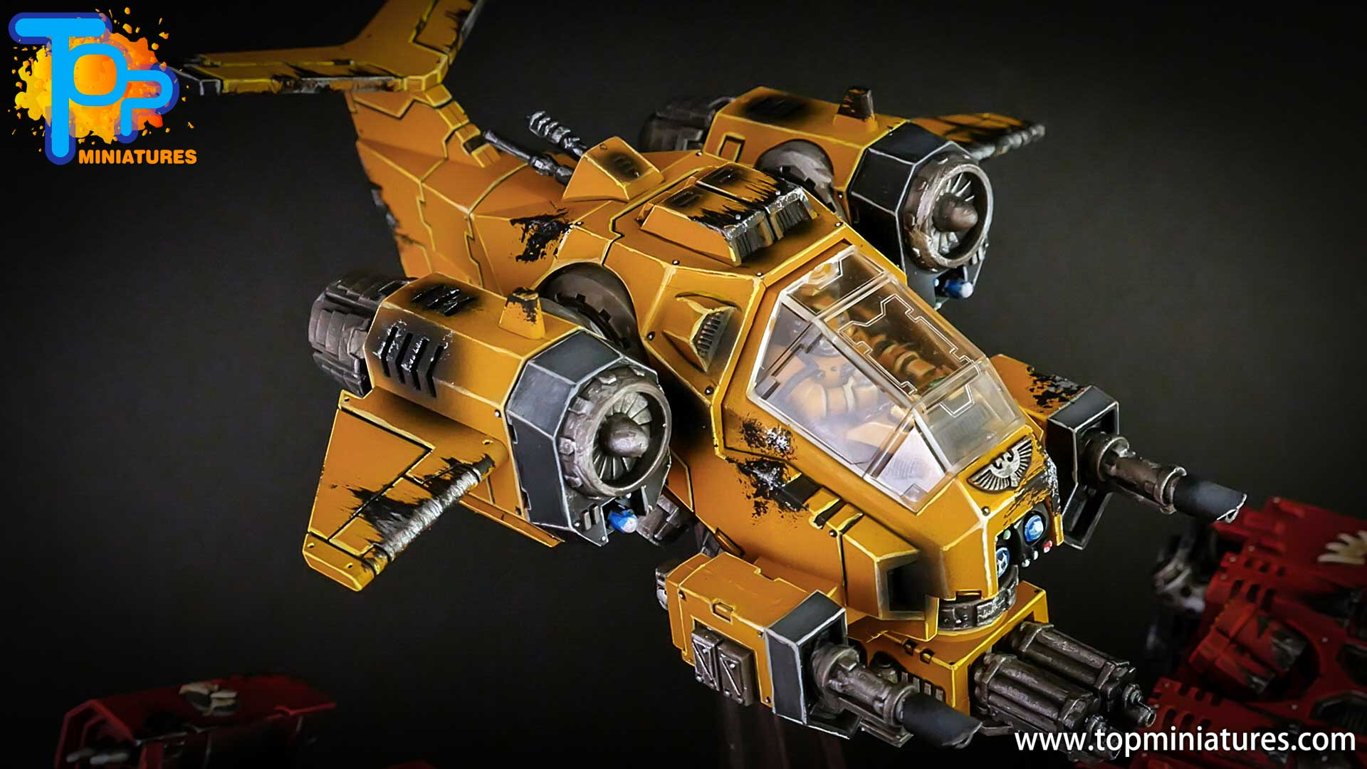 imperial fists space marines stormtalon (2)