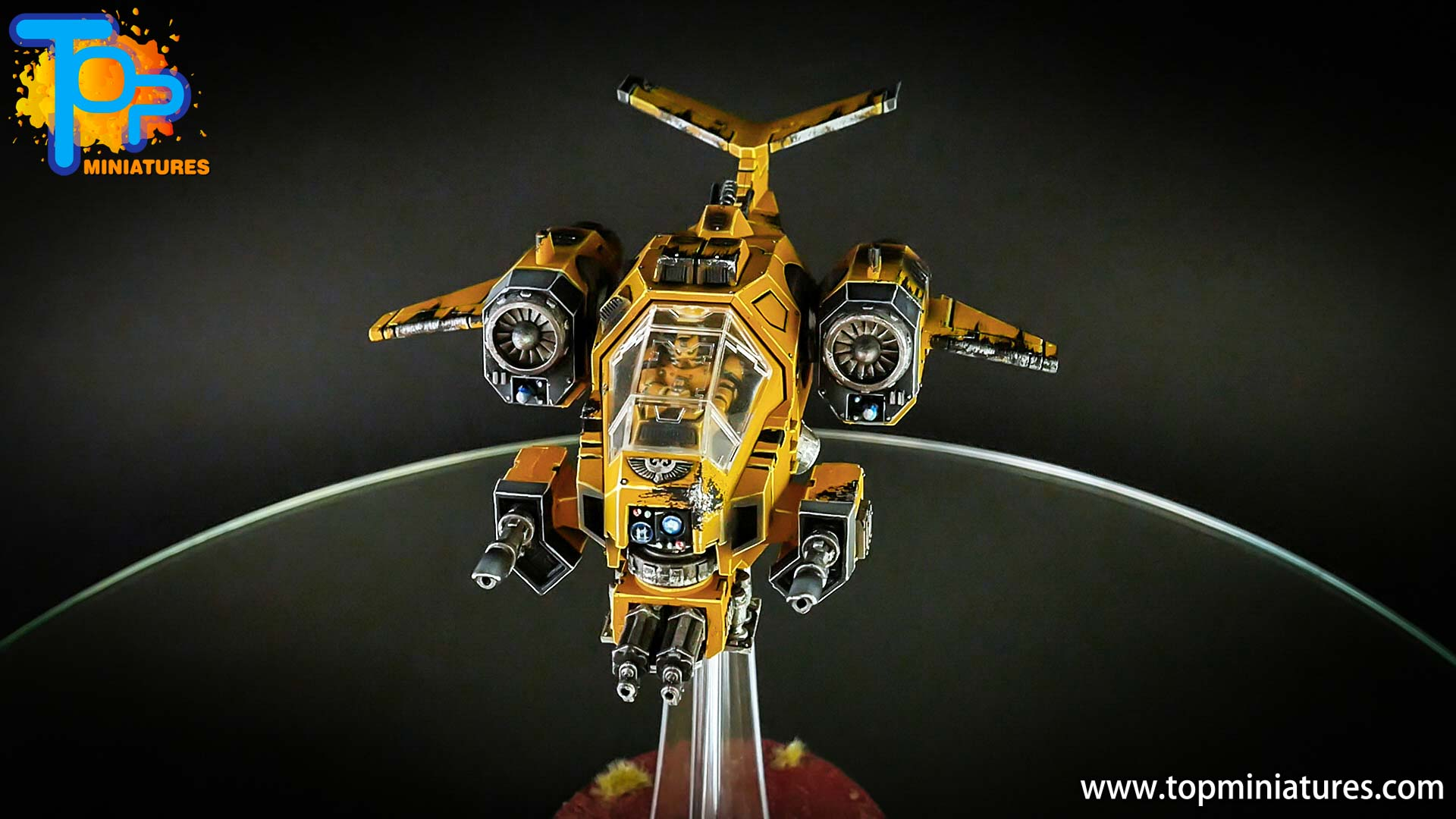 imperial fists space marines stormtalon (5)