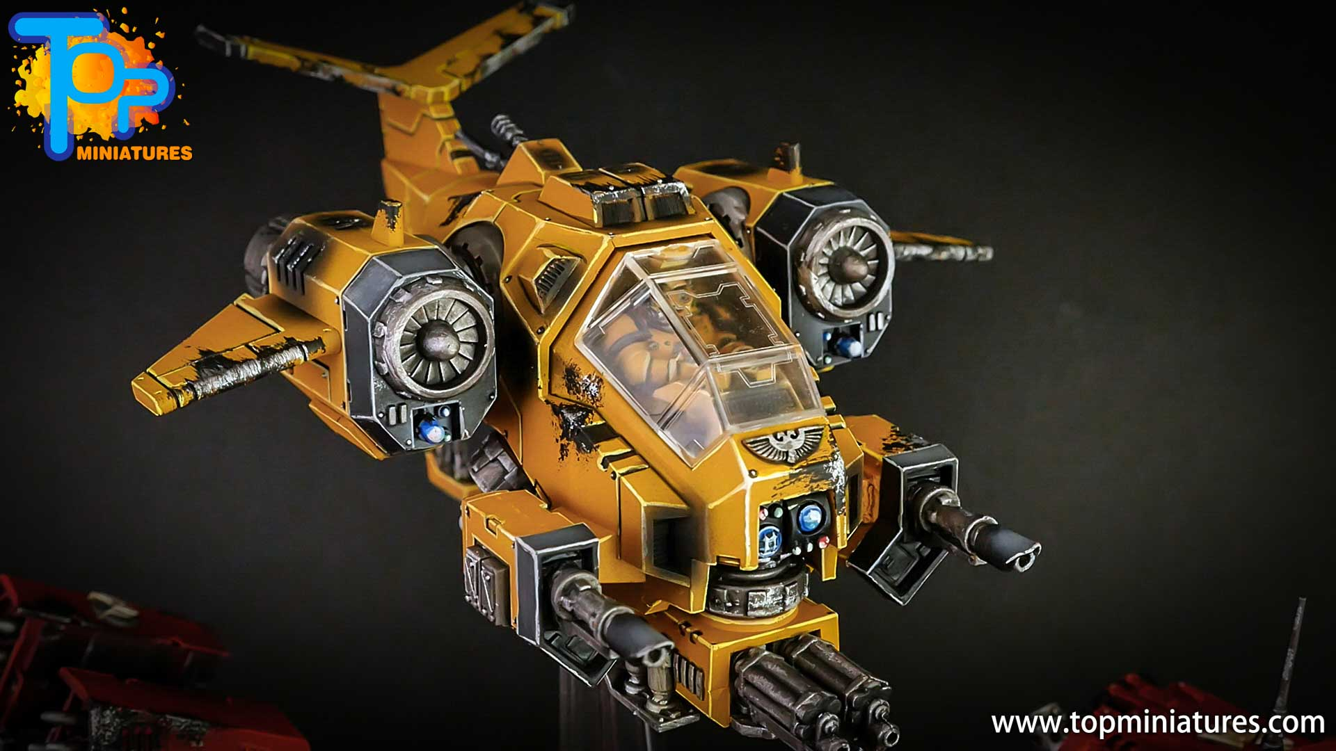 imperial fists space marines stormtalon (8)