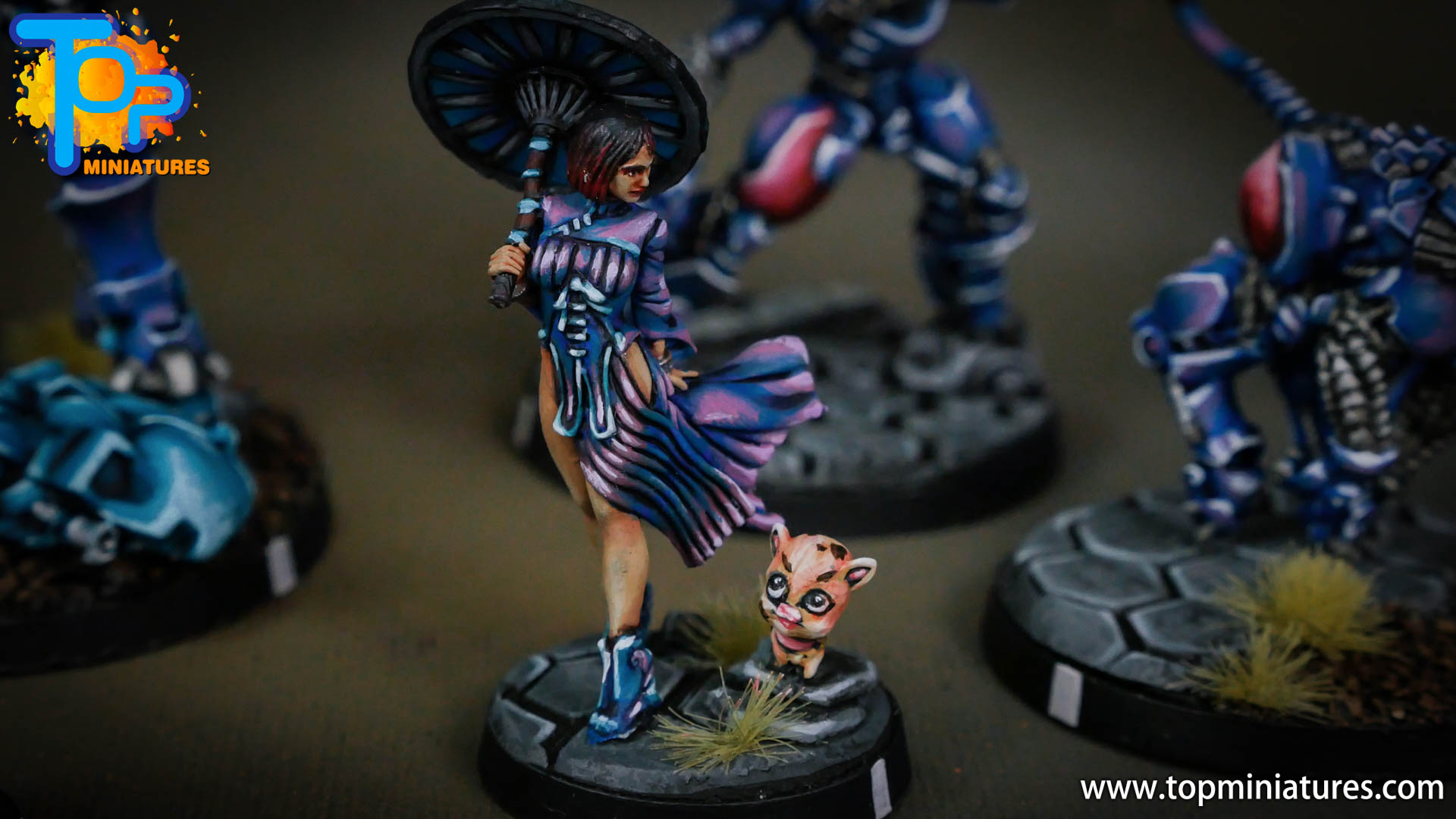 infinity yu jing Dragon Lady, Imperial Service Judge