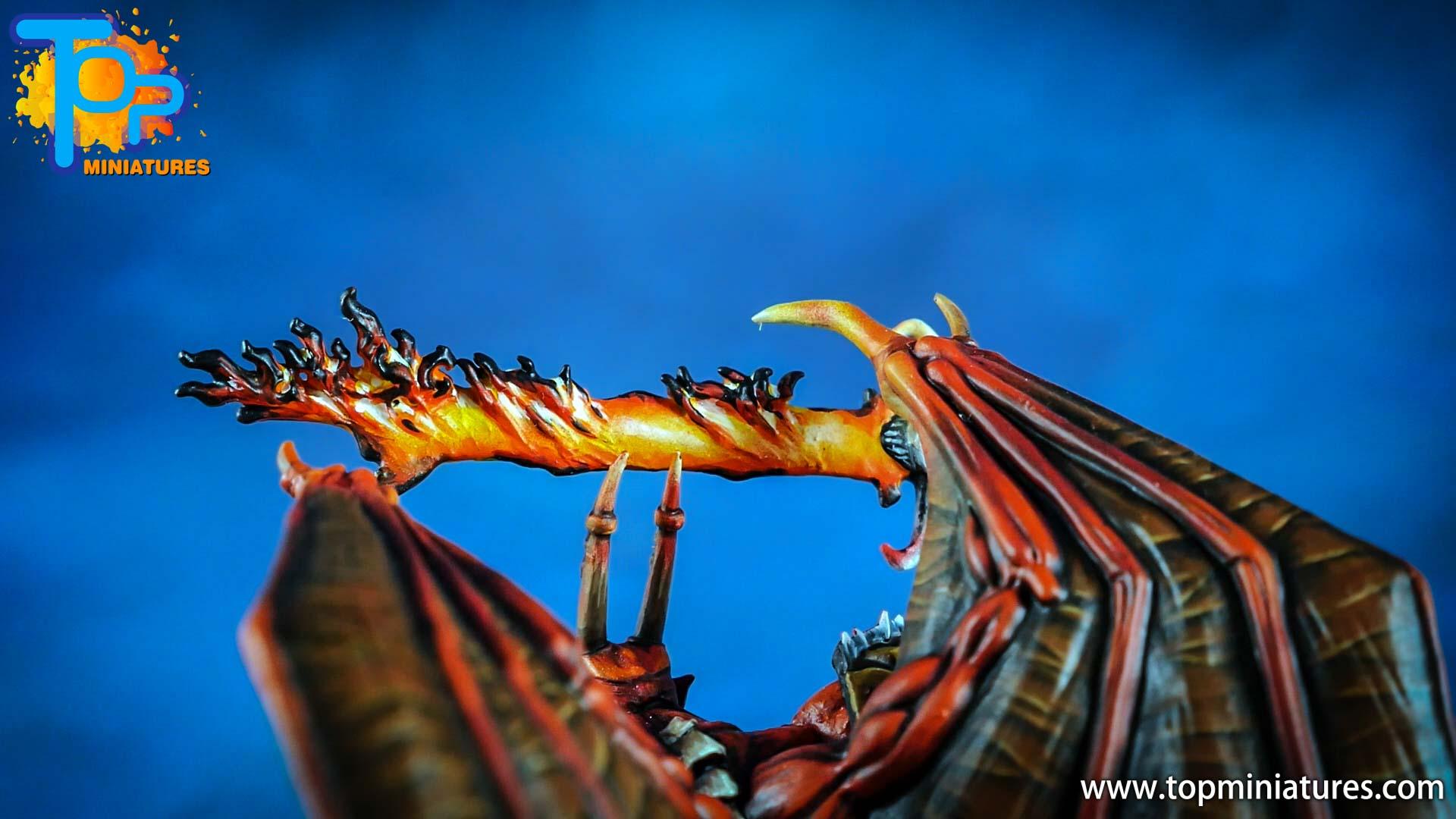 khorne daemon prince flaming sword