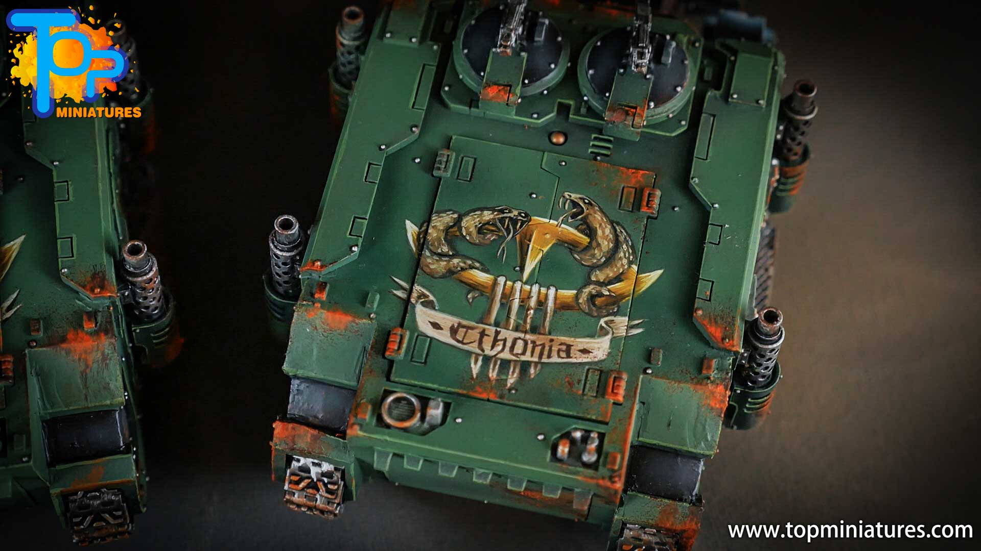 miniwargaming sons of horus painted freehands (1)