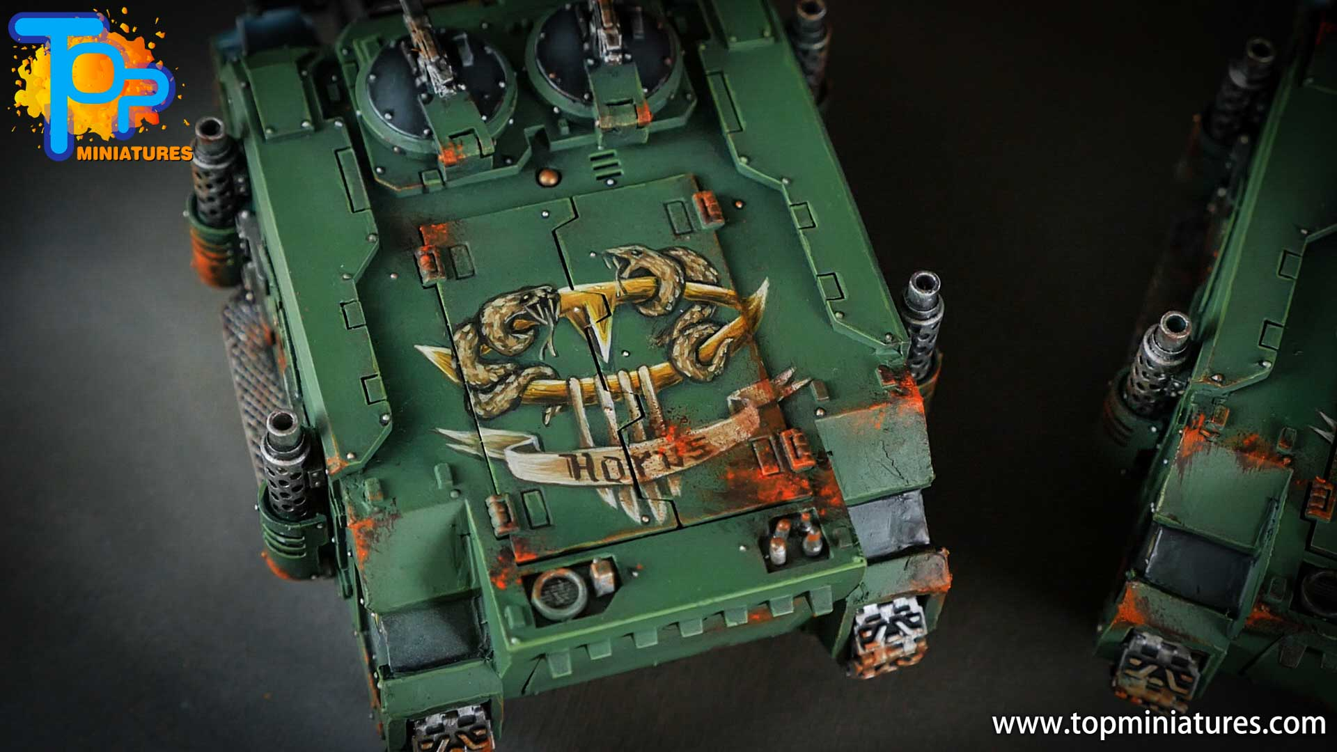 miniwargaming sons of horus painted freehands (3)