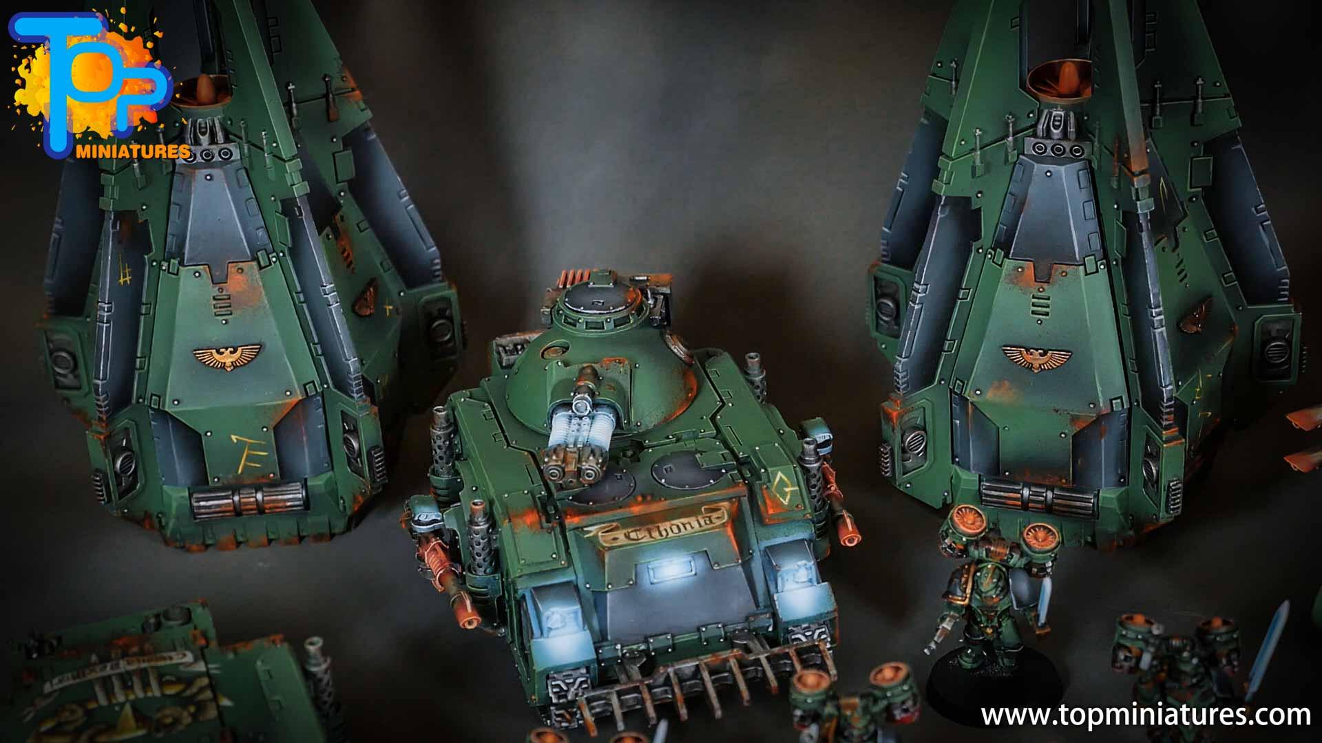 miniwargaming sons of horus painted predator (5)
