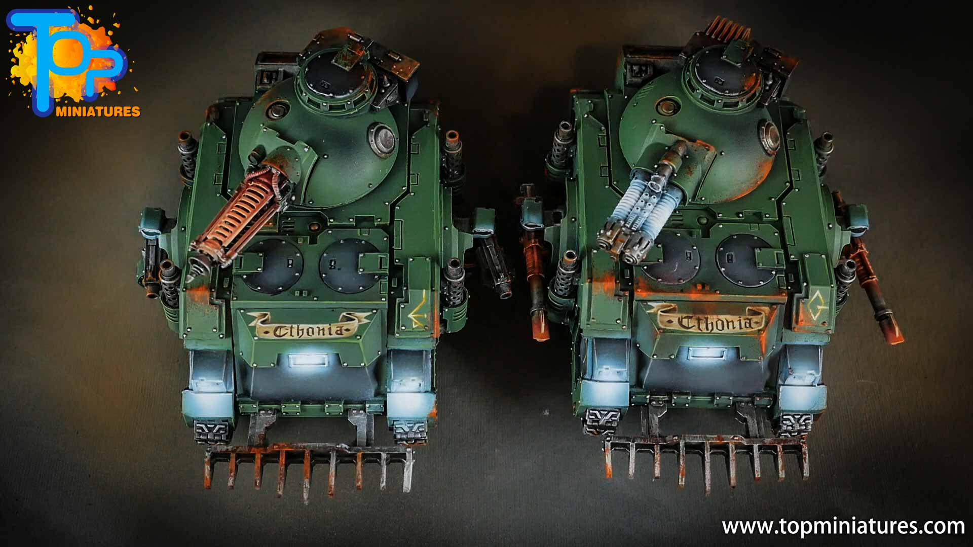 miniwargaming sons of horus painted predator (6)