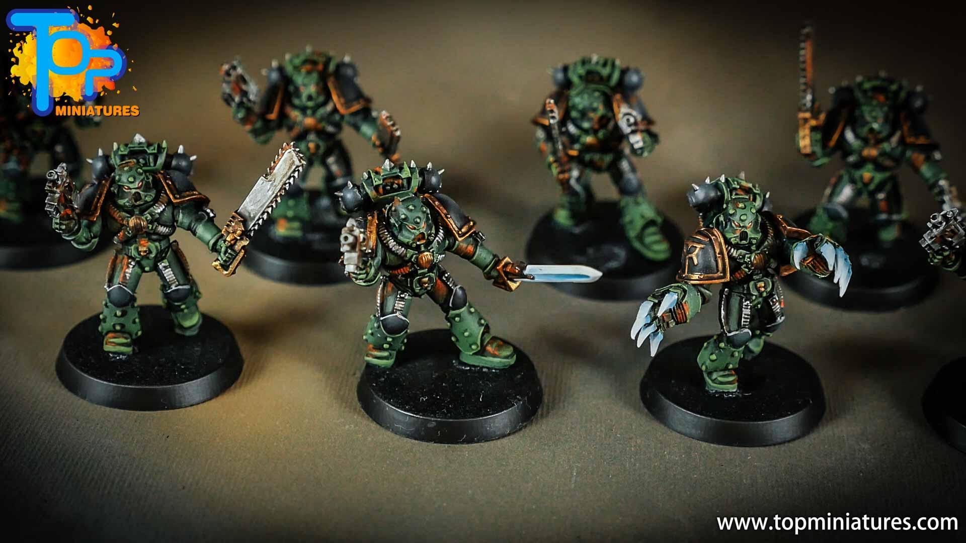 miniwargaming sons of horus painted reavers (2)