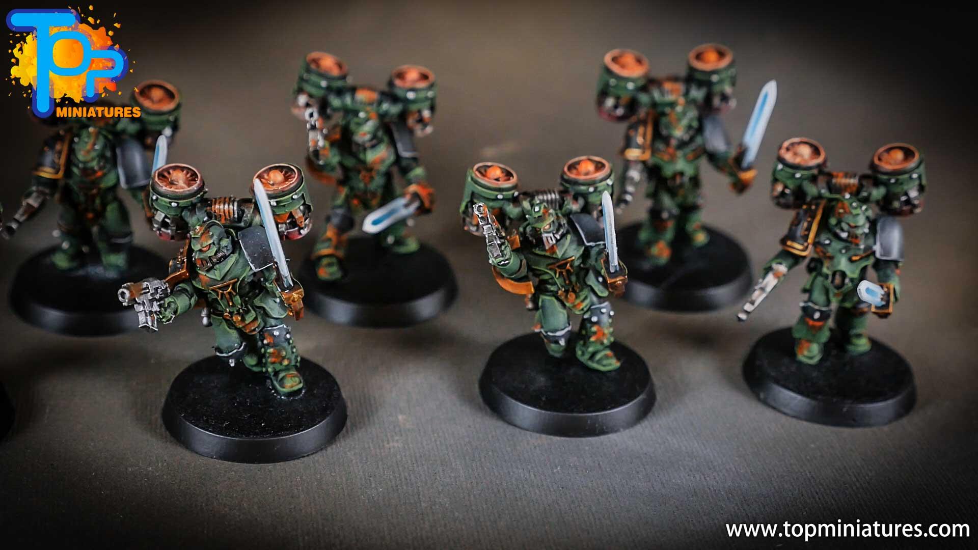 miniwargaming sons of horus painted reavers (3)