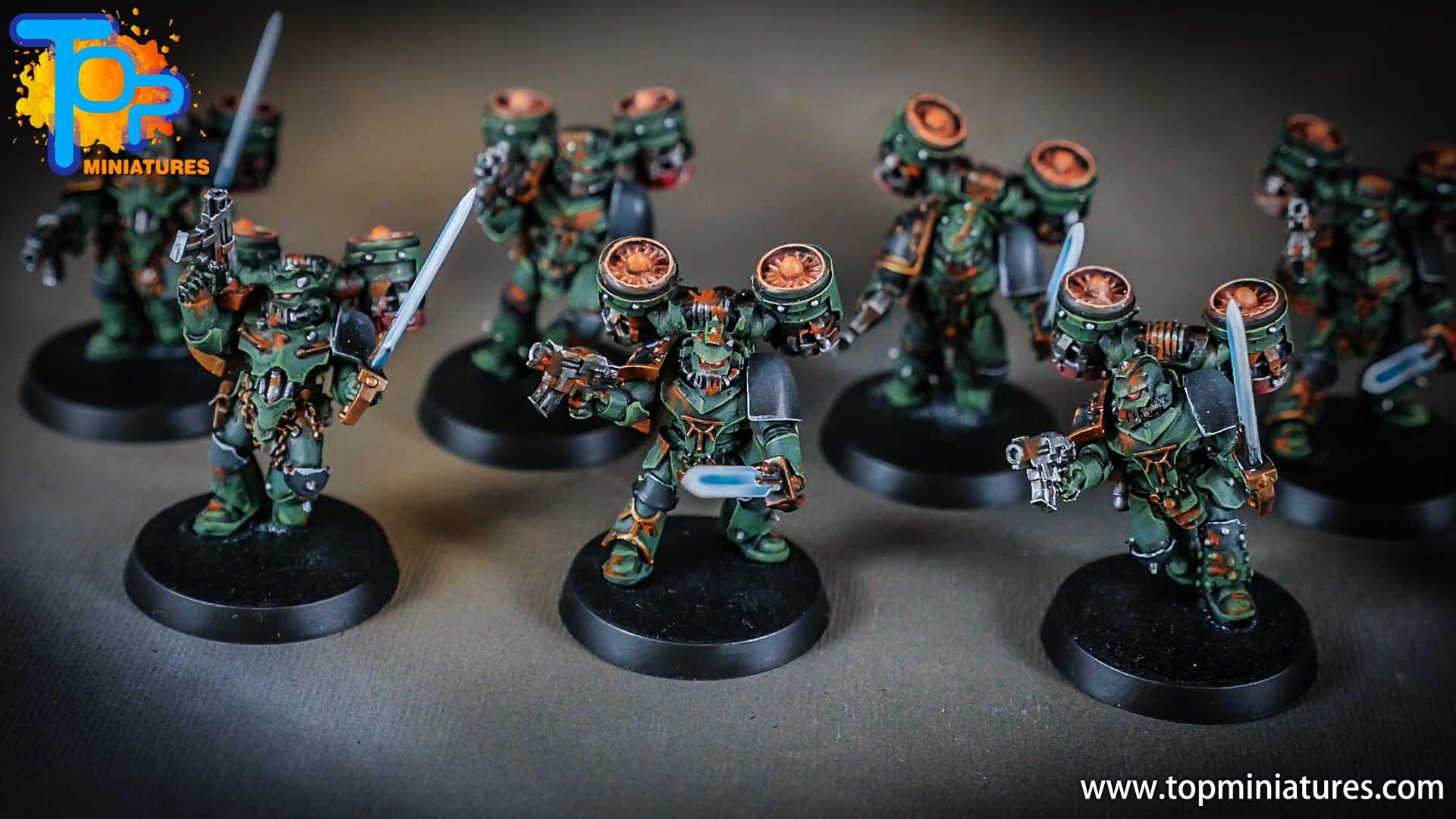 miniwargaming sons of horus painted reavers (4)
