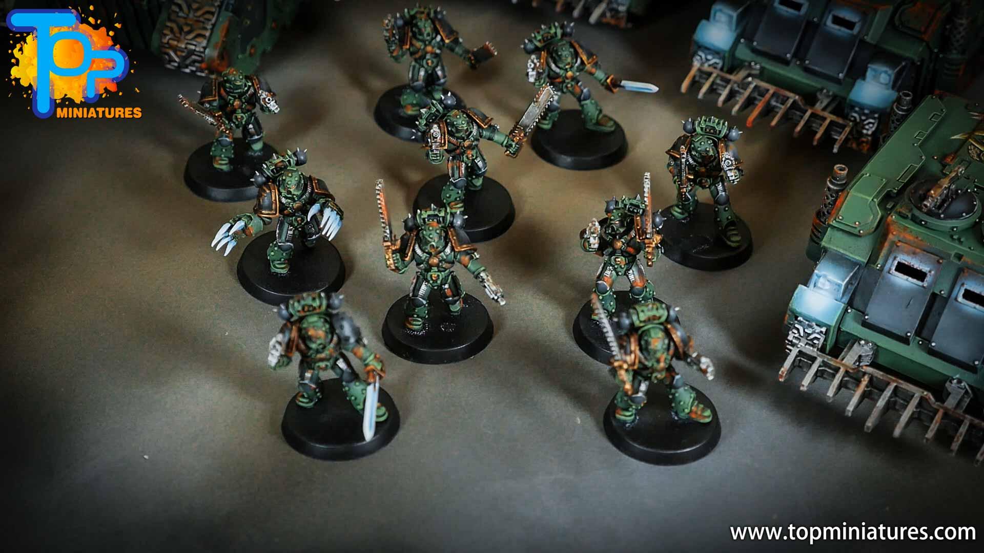 miniwargaming sons of horus painted reavers (7)
