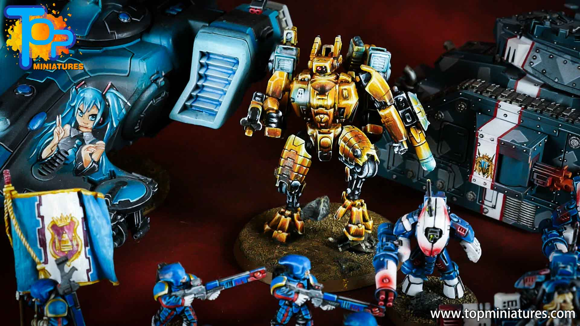 nmm gold Tau empire commander (1)