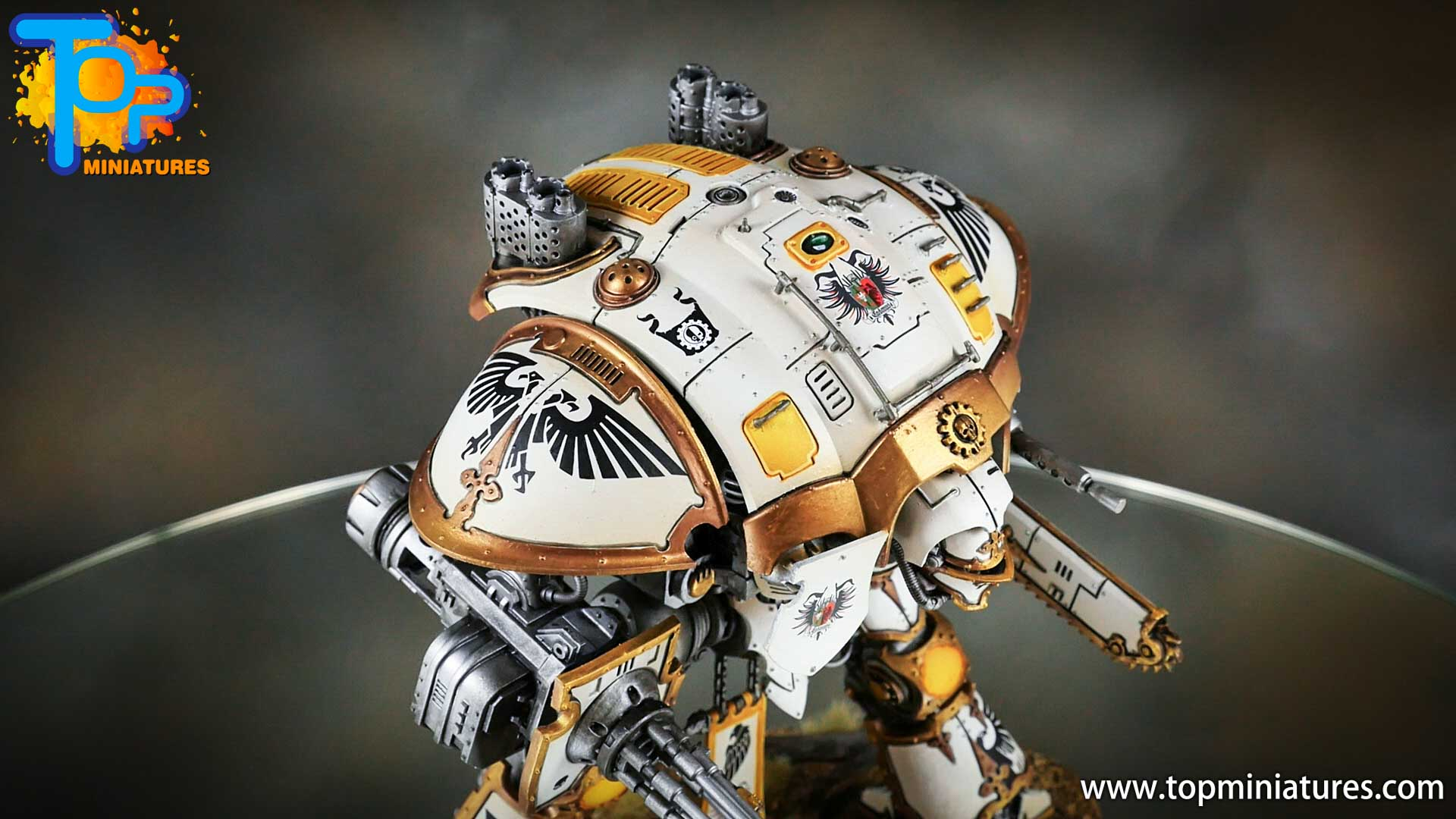 painted imperial knight weathering chipped paint (1)