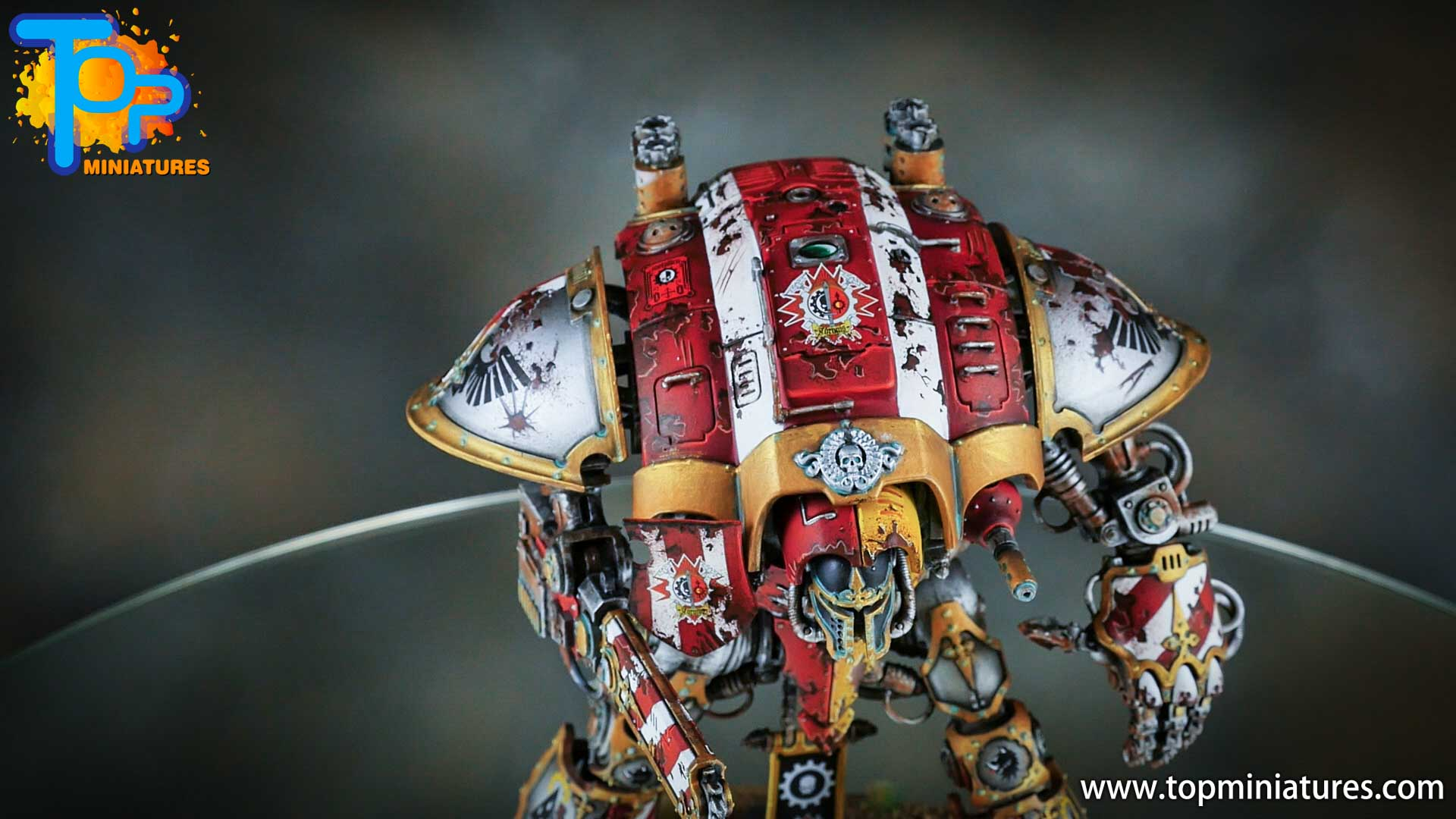 painted imperial knight weathering chipped paint (32)