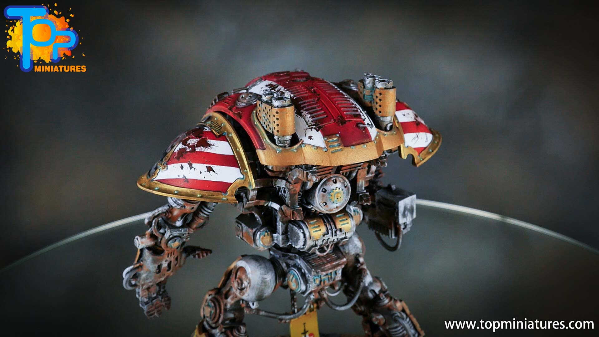 painted imperial knight weathering chipped paint (34)