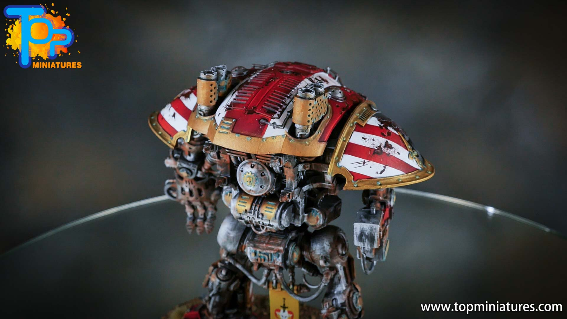 painted imperial knight weathering chipped paint (35)