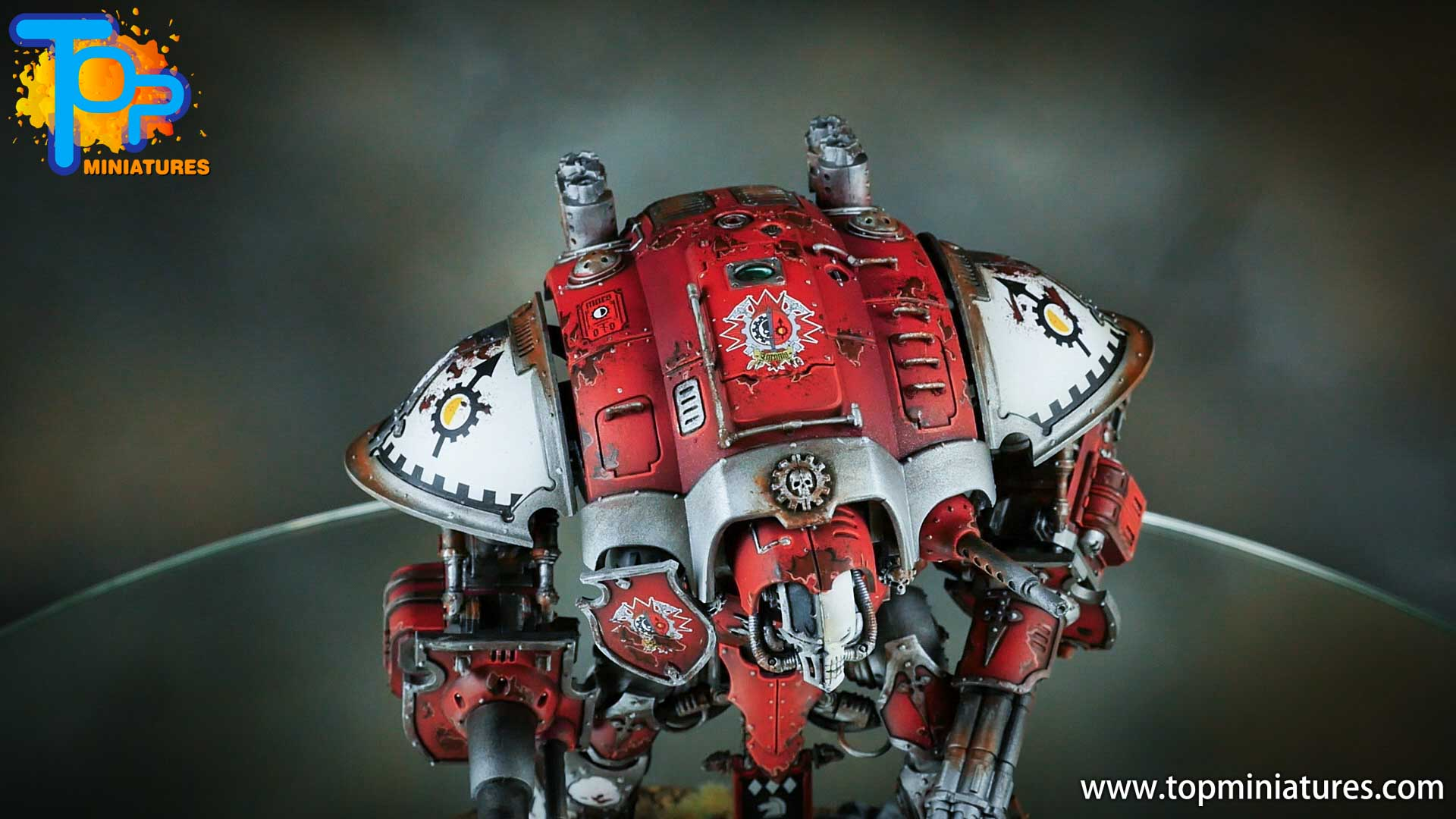 painted imperial knight weathering chipped paint (9)
