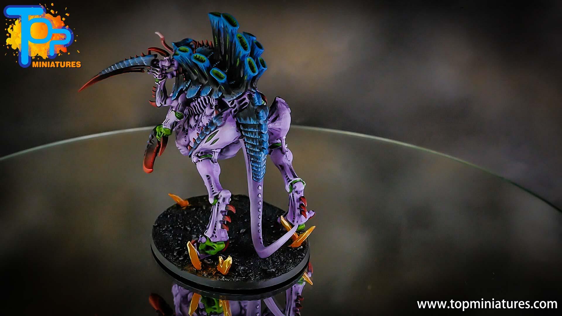 painted purple tyranids converted tervigon (2)