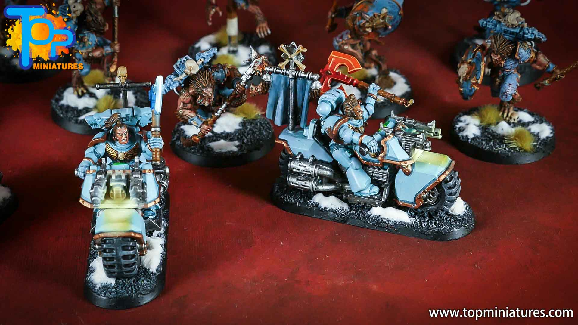 painted space wolves bikes (1)