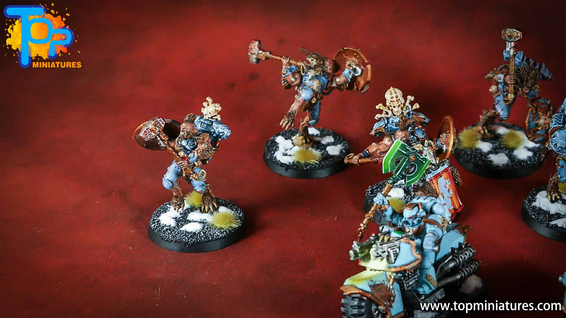 painted space wolves bikes (2)