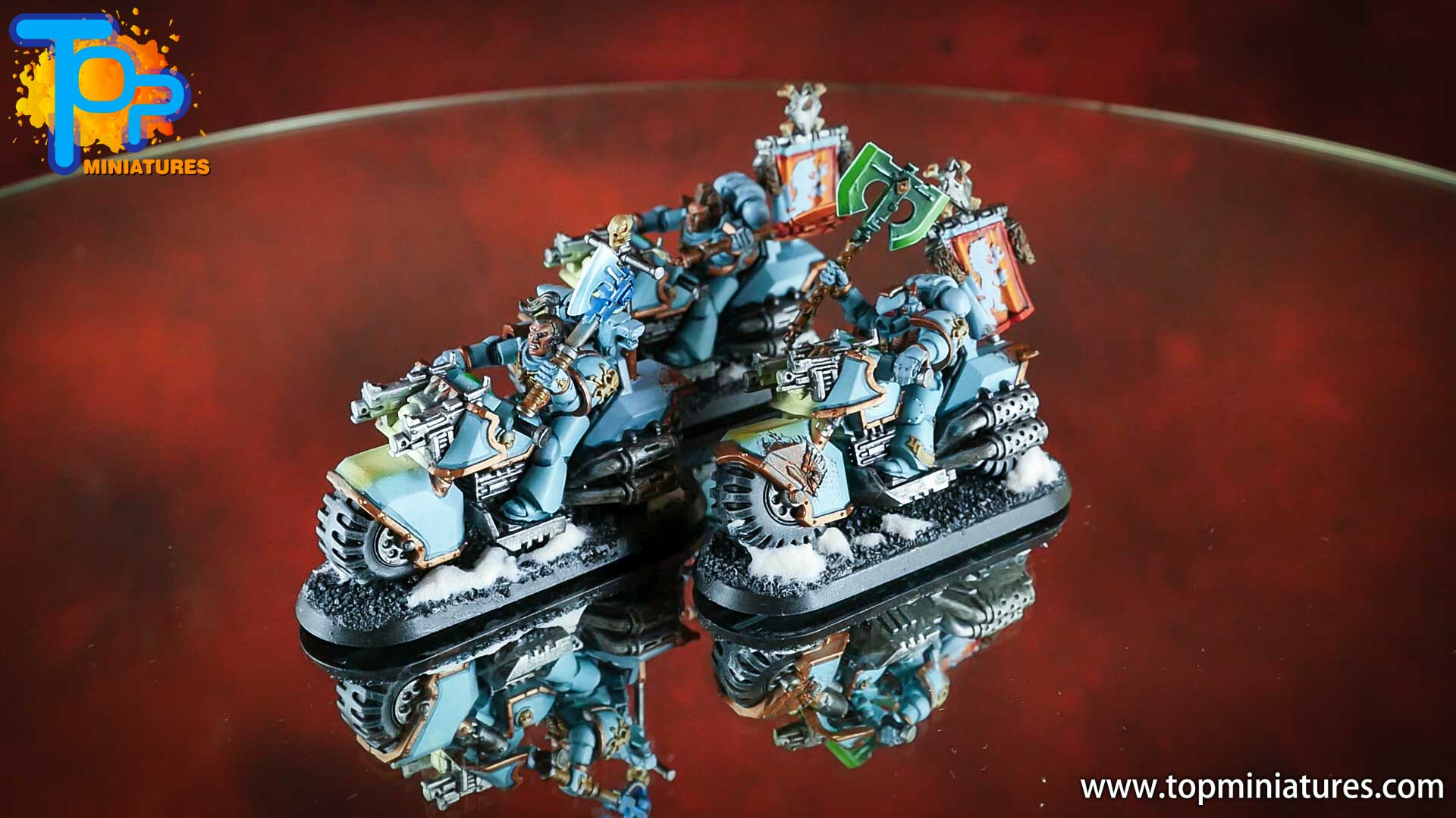 painted space wolves bikes (4)