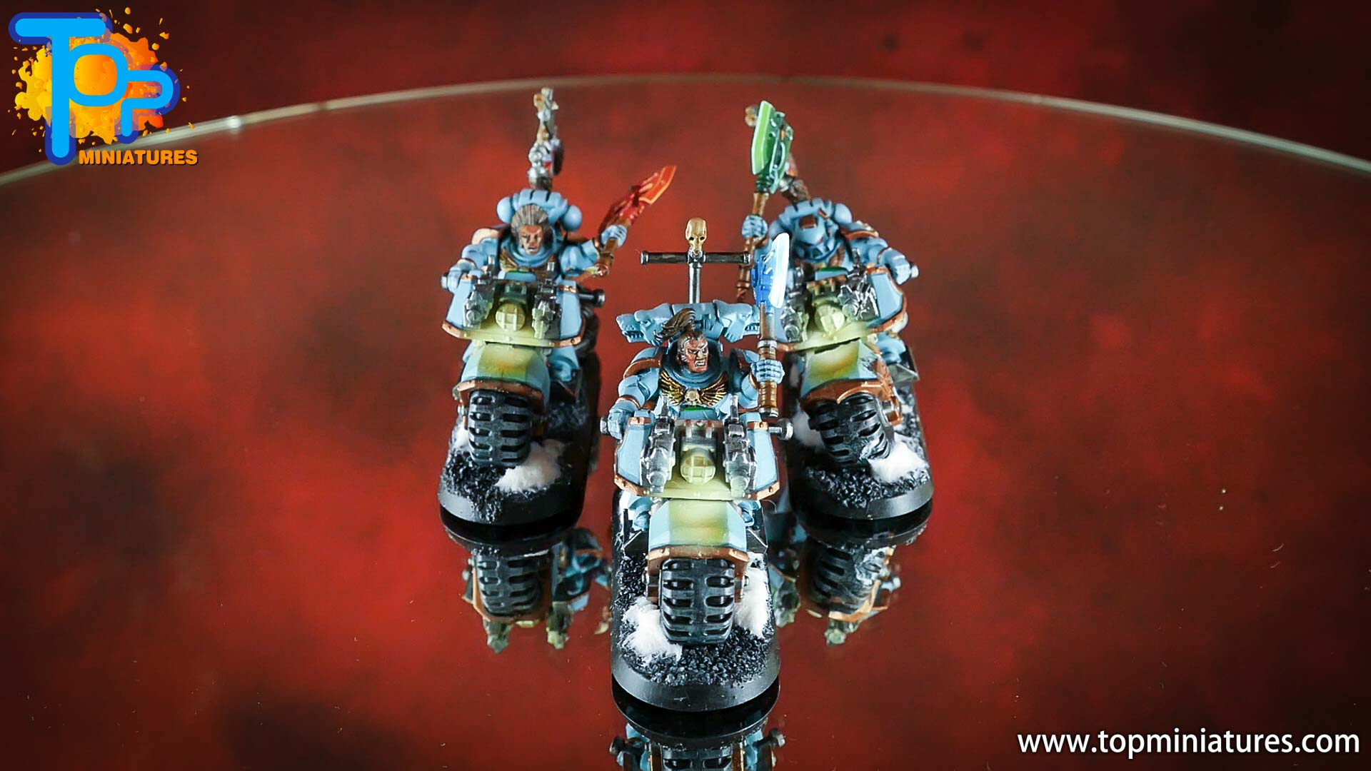painted space wolves bikes (5)