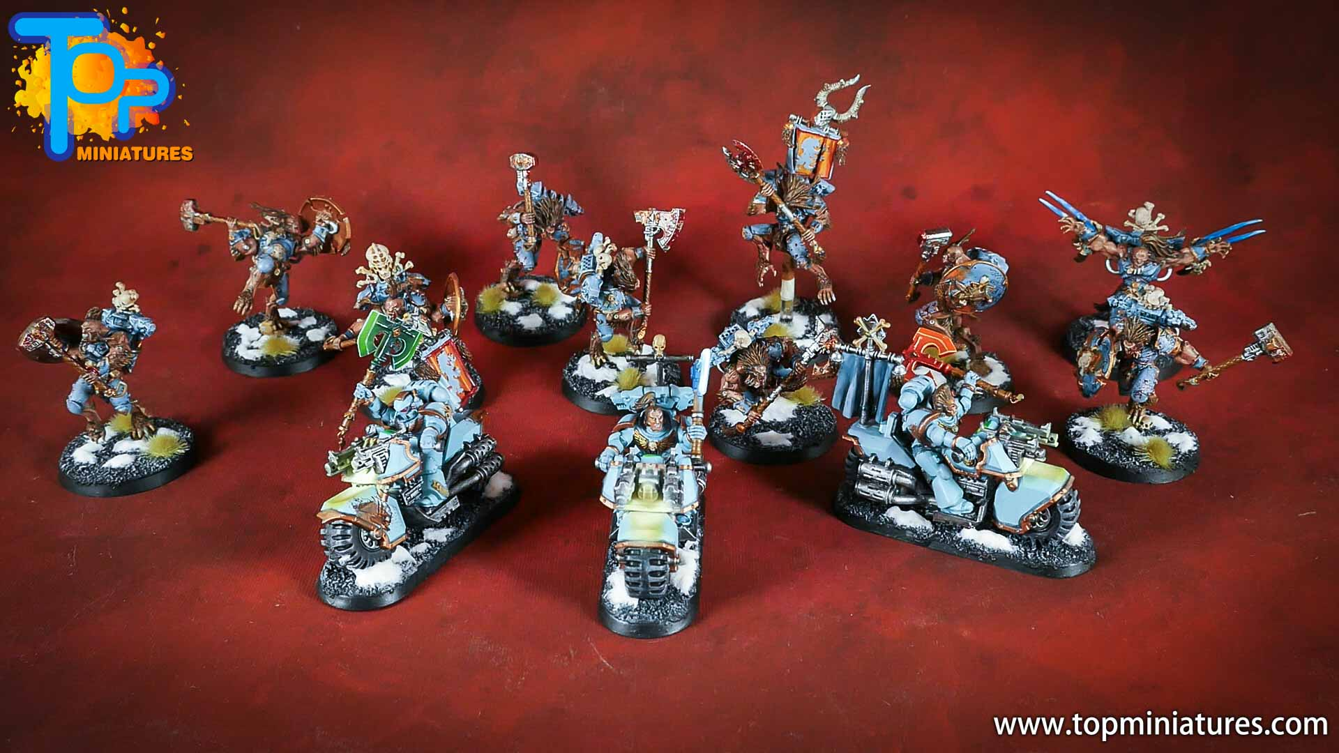 painted space wolves bikes (6)