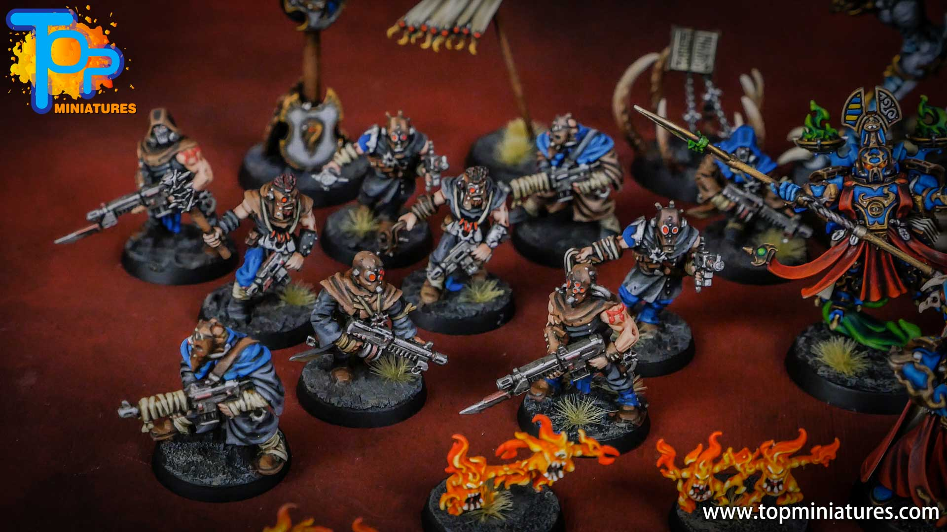 painted tzeentch chaos cultists (5)