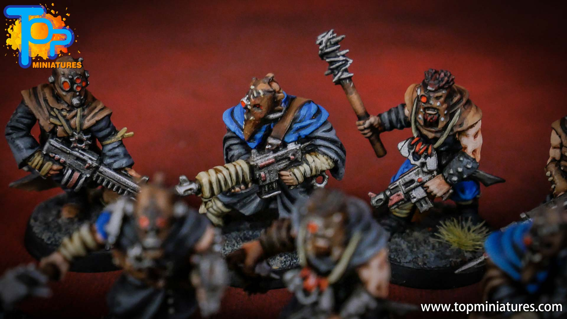 painted tzeentch chaos cultists (9)