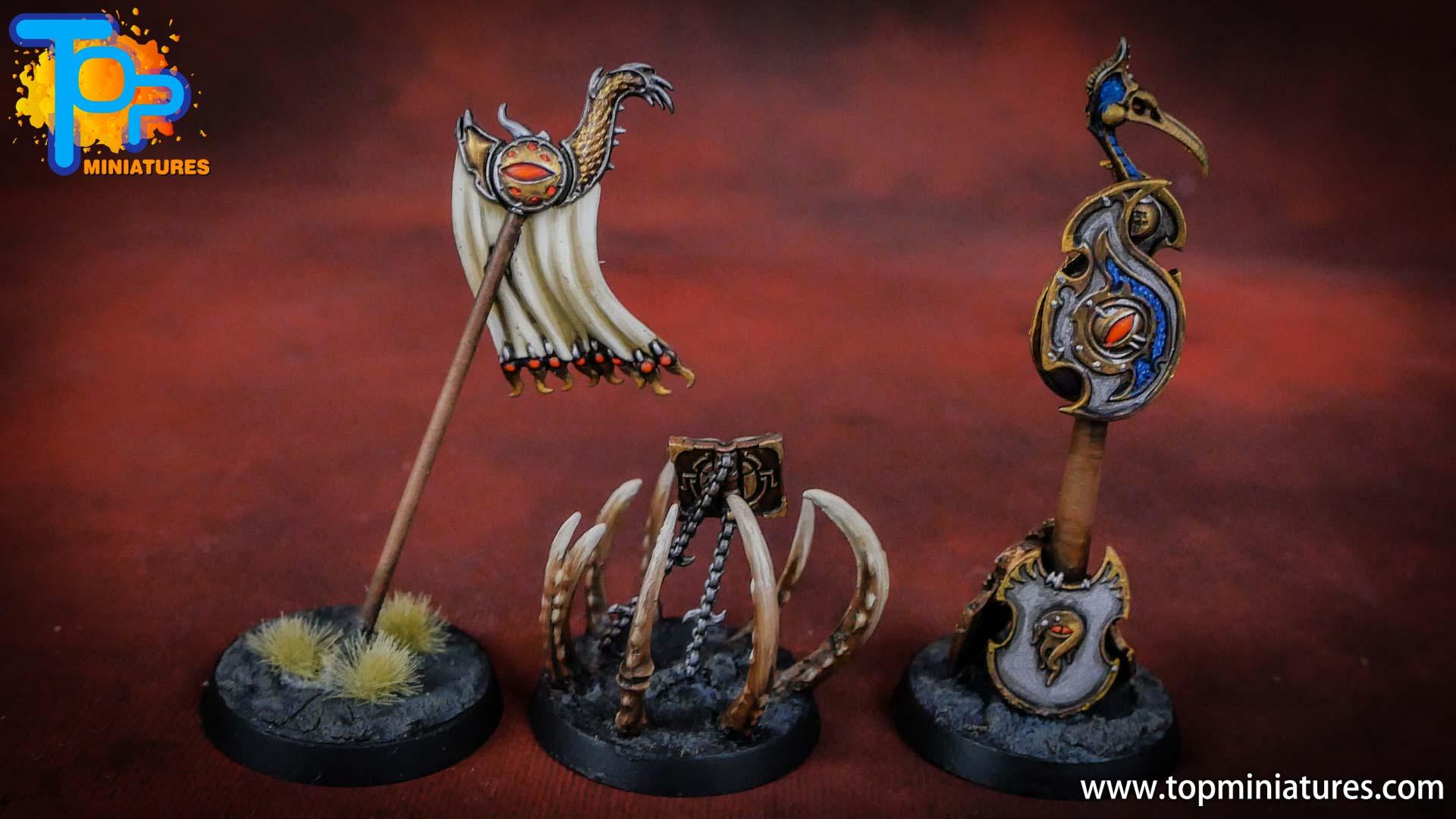 painted tzeentch chaos objectives (3)