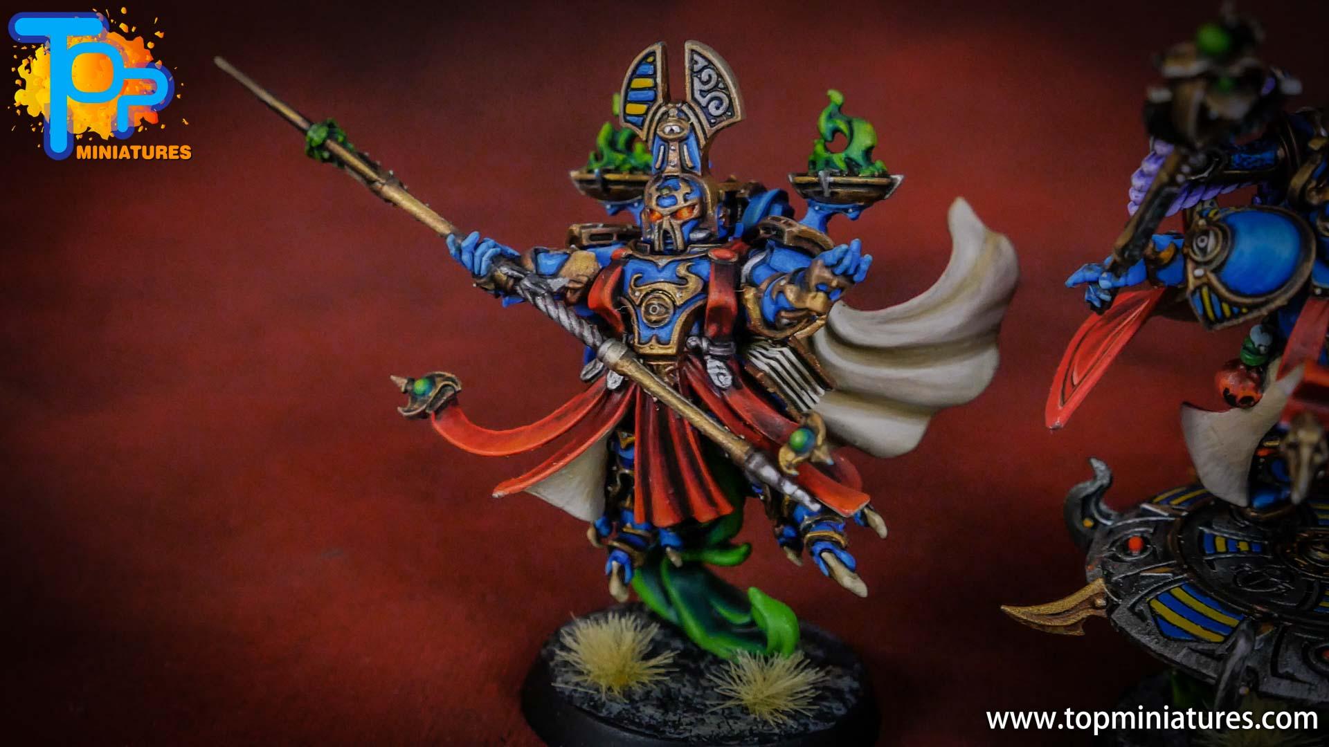 painted tzeentch exalted sorcerers (10)