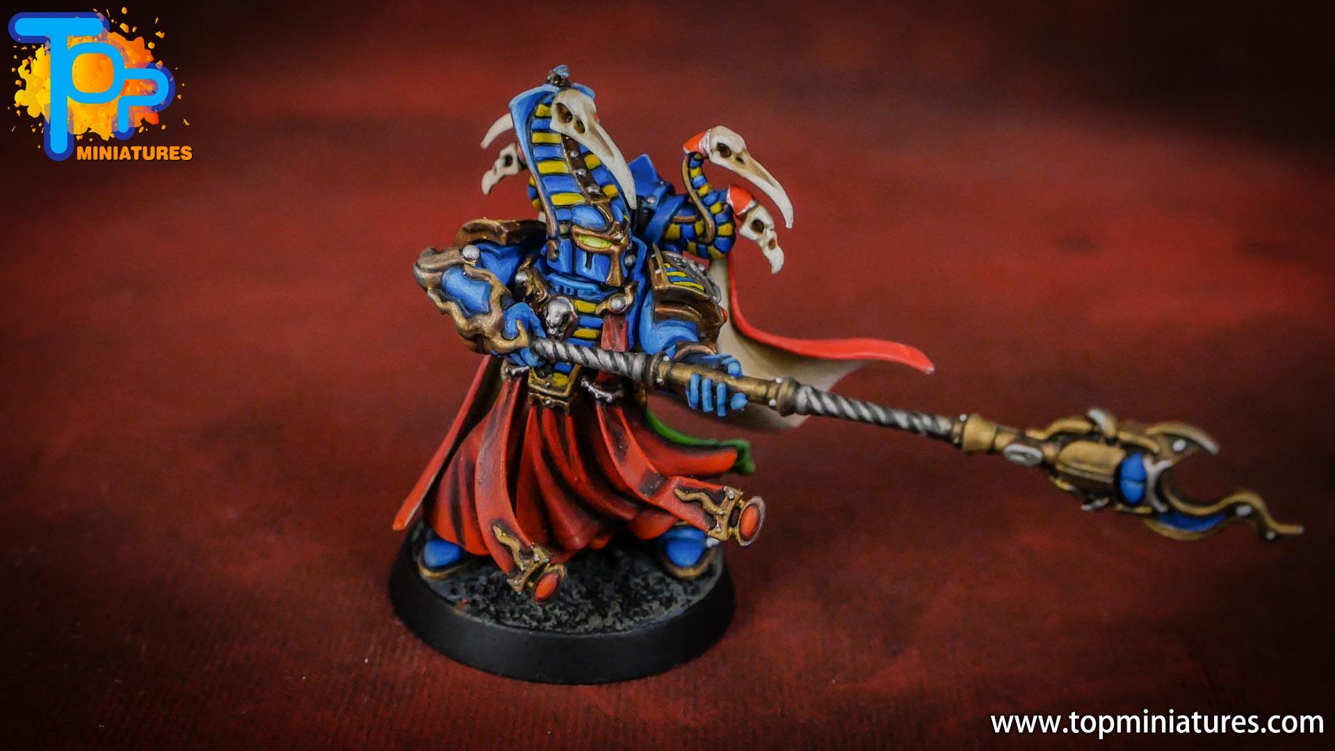painted tzeentch exalted sorcerers (4)